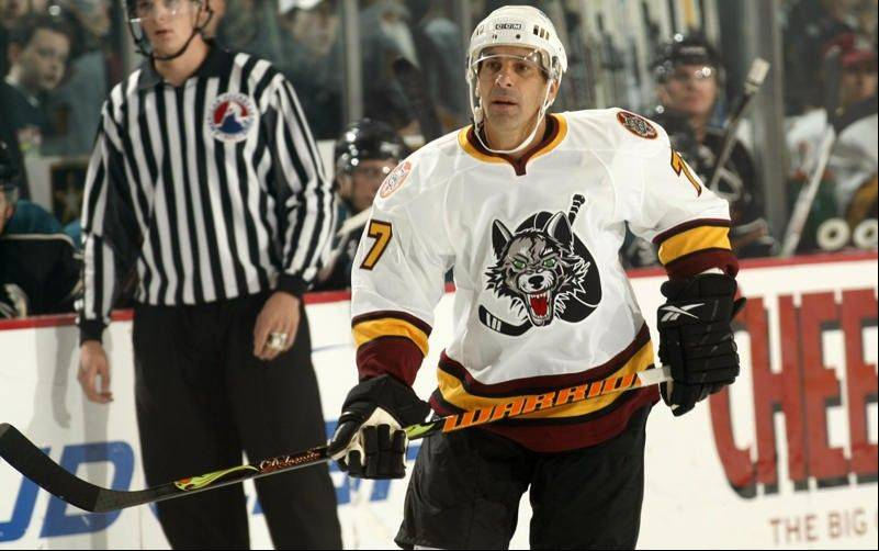 After his stellar NHL career ended, Chris Chelios returned to Chicago to play for the Wolves before he retired from hockey.