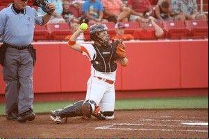 Bandits catcher Kristen Butler is returning for her second season with the Chicago franchise. Butler had 10 home runs last season for the NPF club.
