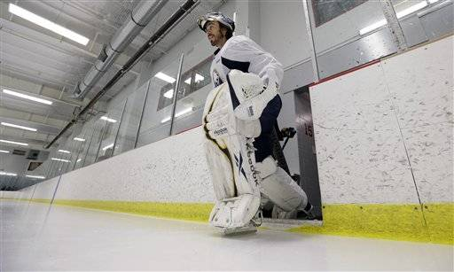 "After rejoining his Buffalo Sabres teammates on the ice for the first time in some nine months, goalie Ryan Miller had a few lingering frustrations to get off his chest regarding the NHL lockout.""The best thing to do is acknowledge that it was stupid,"" Miller said Friday"