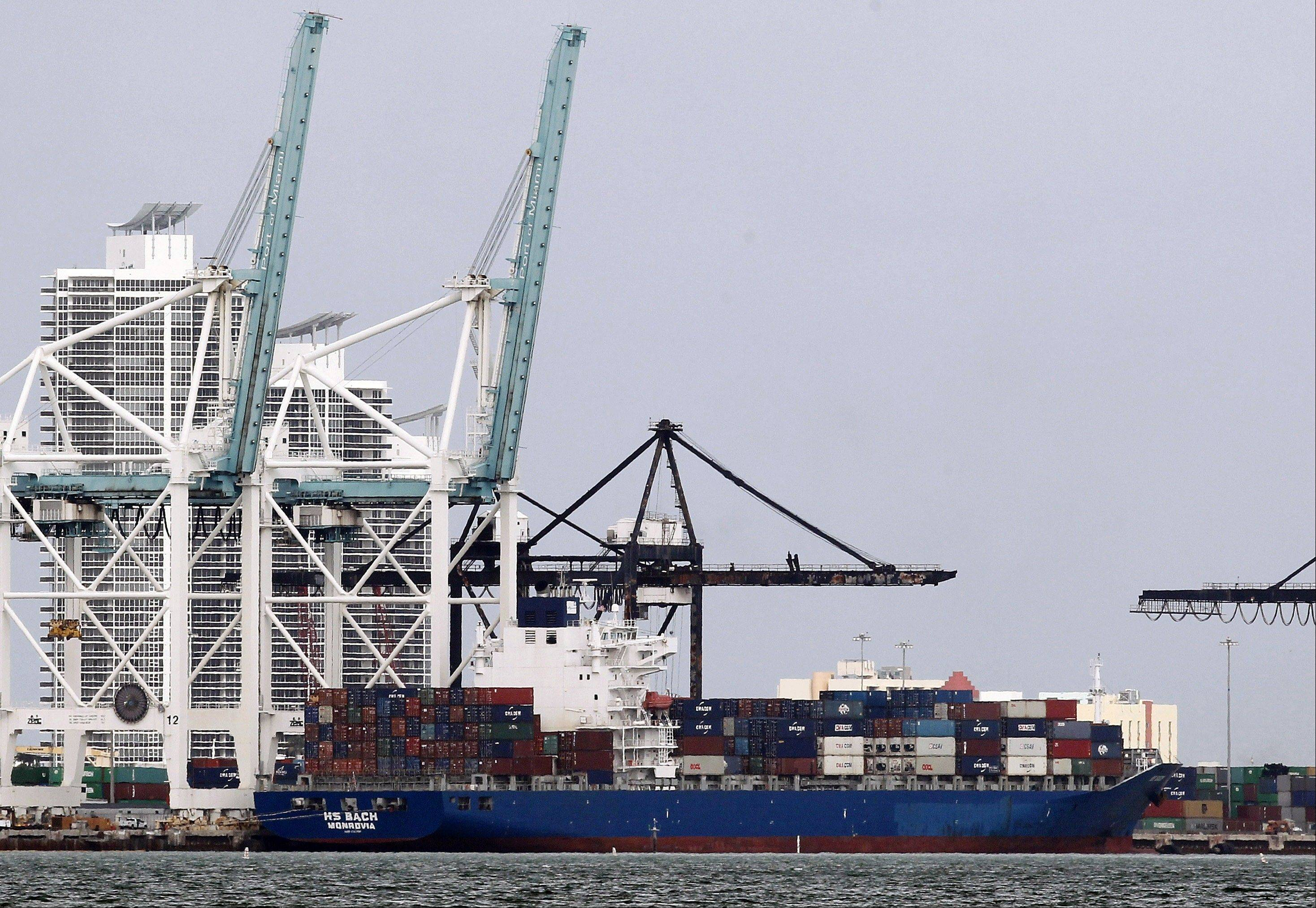 The U.S. trade deficit expanded in November to its widest point in seven months, driven by a surge in imports that outpaced modest growth in exports.