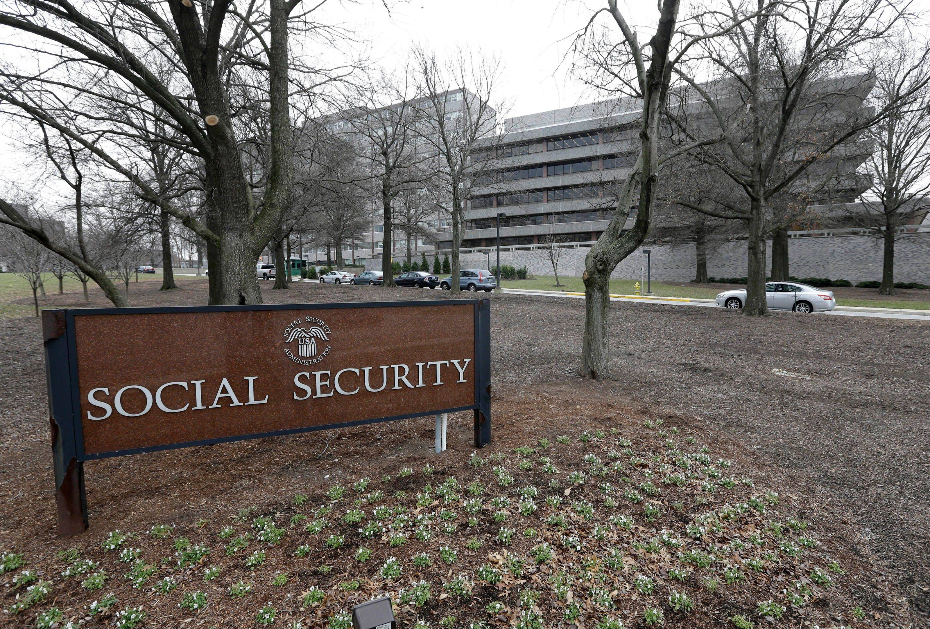The Social Security Administration's main campus in Woodlawn, Md.