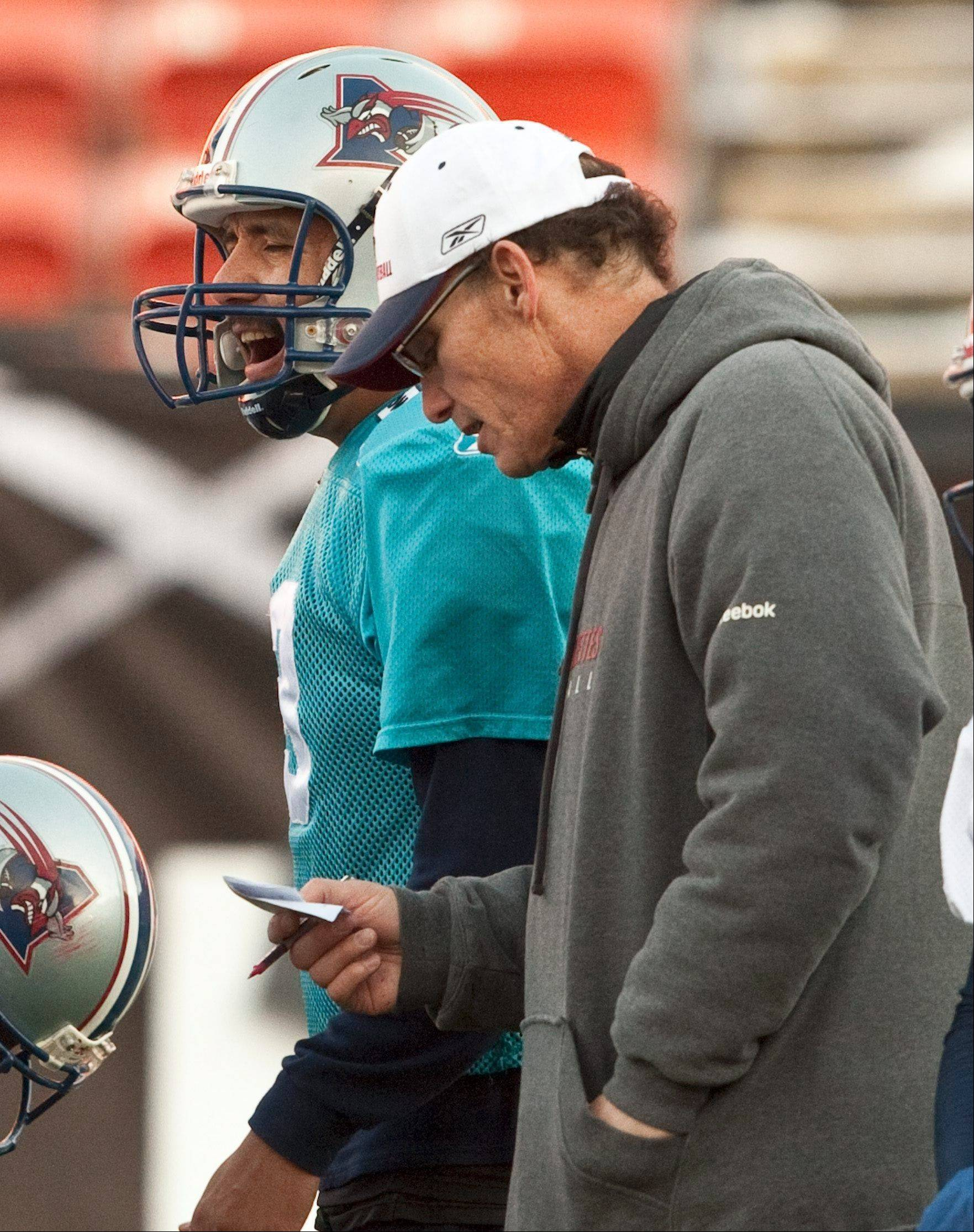 Montreal Alouettes head coach Mark Trestman, a candidate for the Bears head-coaching job, has denied a report that he has been given the job.