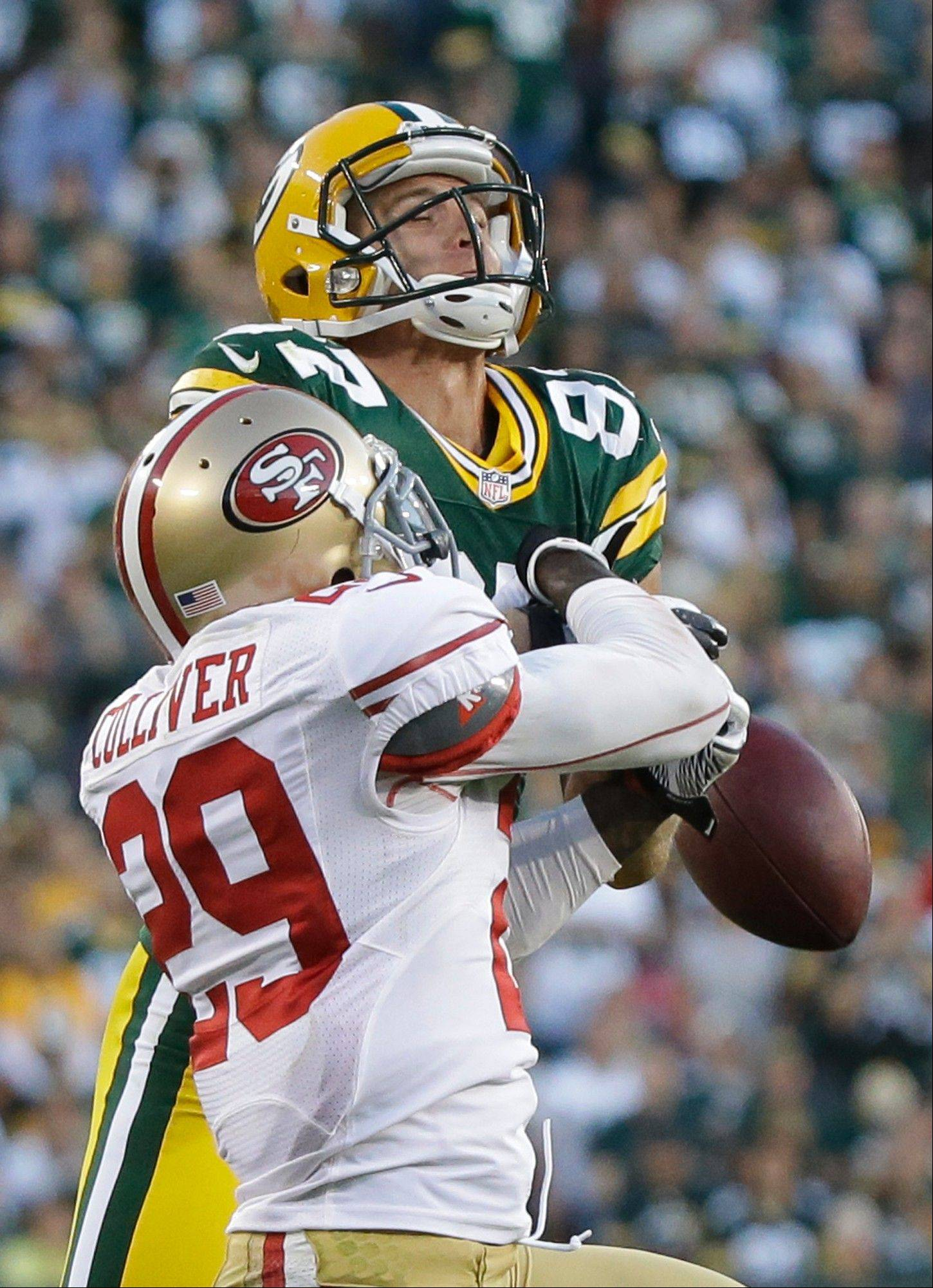 The San Francisco 49ers hope to do what they did to open the season when they defeated the Packers 30-22 in Green Bay. The two teams meet Saturday night in San Francisco for an NFC divisional playoff game.