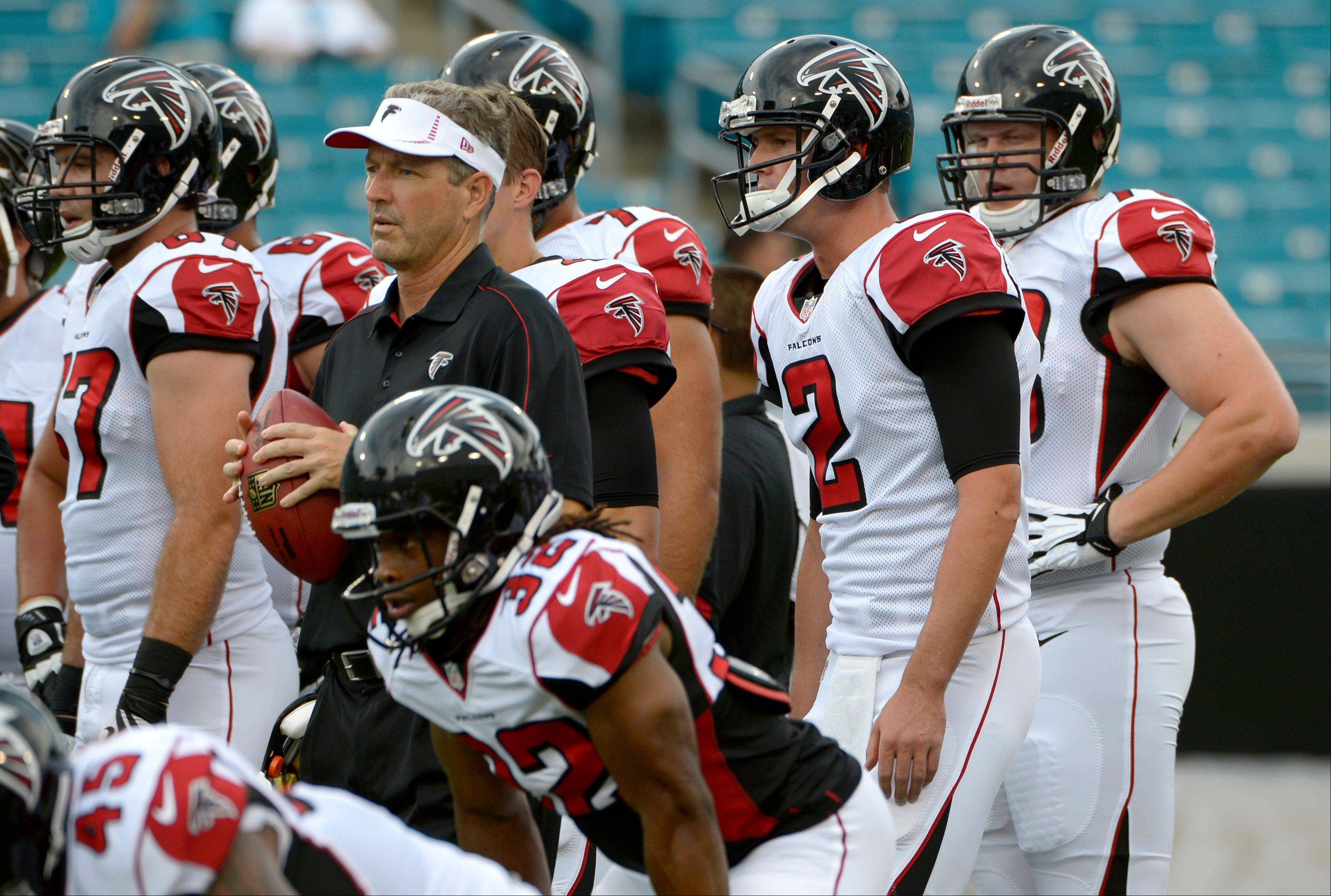 The Seattle Seahawks are favored in their game this weekend with Atlanta, but Mike North likes the Falcons.