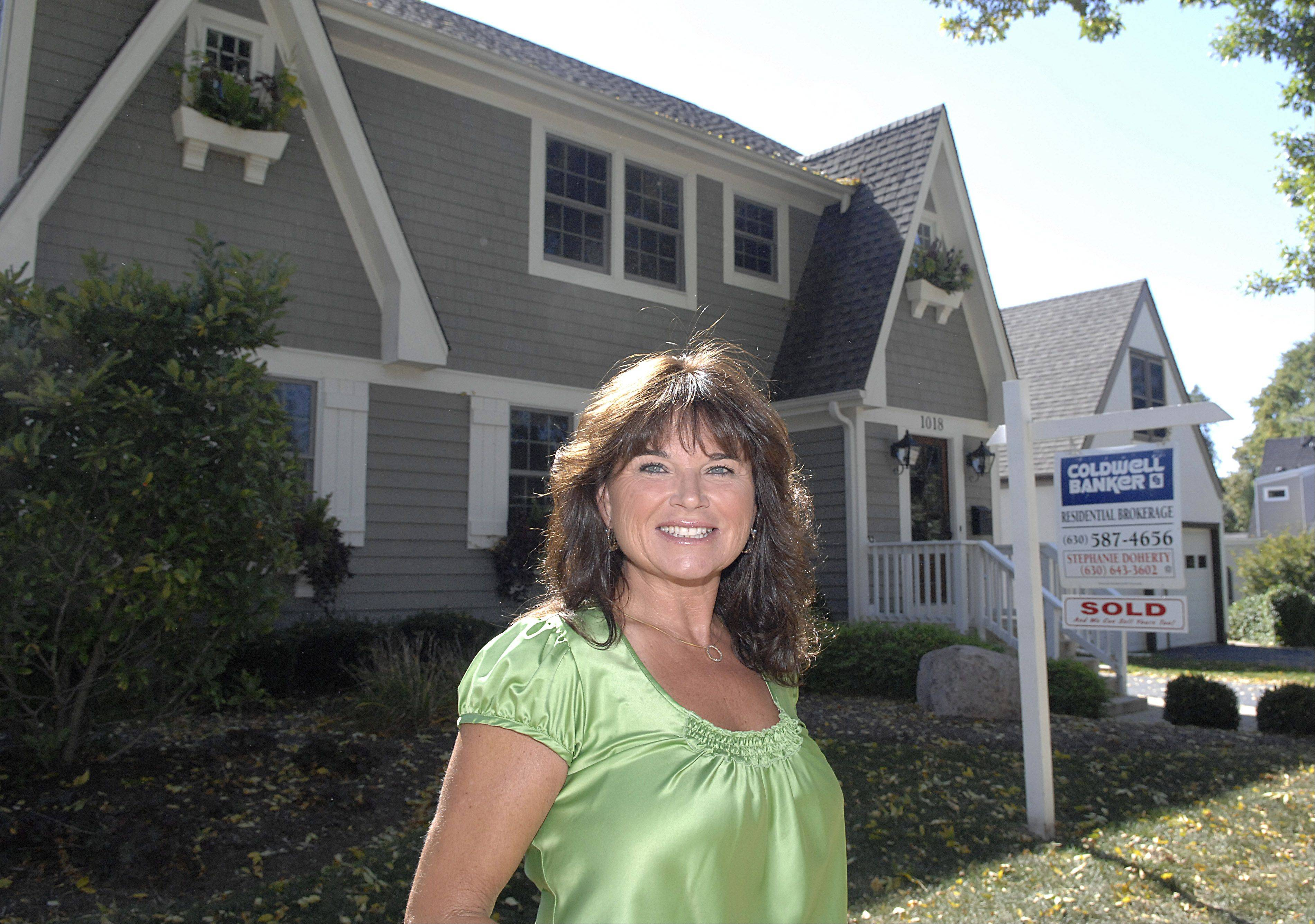 Stephanie Doherty, Realtor with Coldwell Banker Residential Brokerage in St. Charles, expects spring to be busier than usual with new listings already hitting the market.