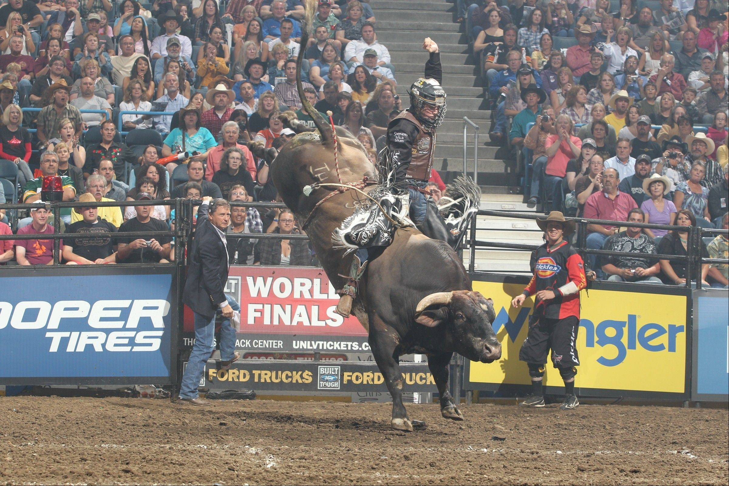 The 2013 Professional Bull Riders (PBR) Built Ford Tough Series stops at the Allstate Arena in Rosemont on Saturday and Sunday, Jan. 12-13.