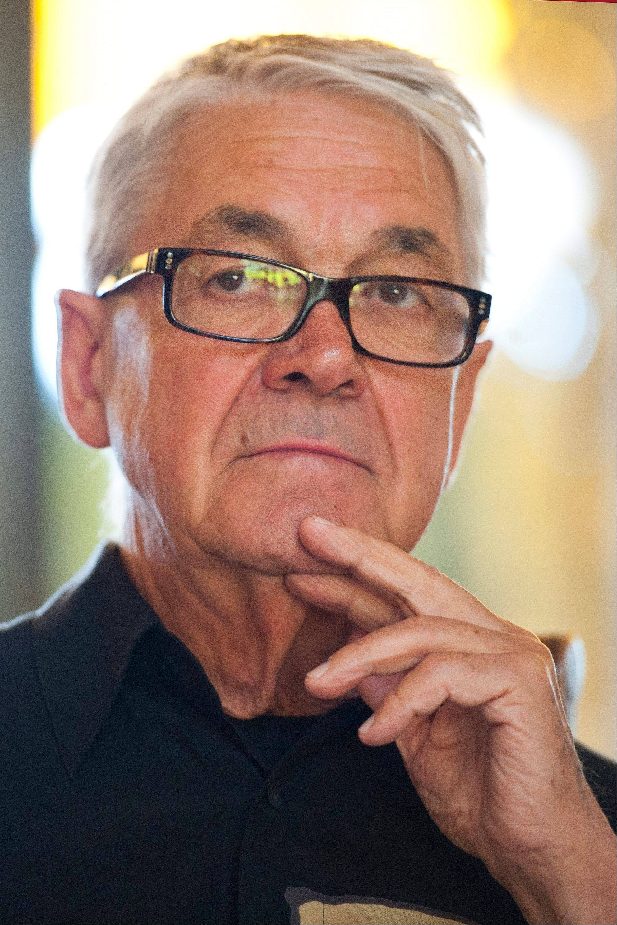 Swiss Claude Nobs, founder and director of the Montreux Jazz Festival.