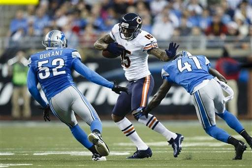 Bears record-setting wide receiver Brandon Marshall was named to the Associated Press first-team All-Pro team along with cornerback Charles Tillman.