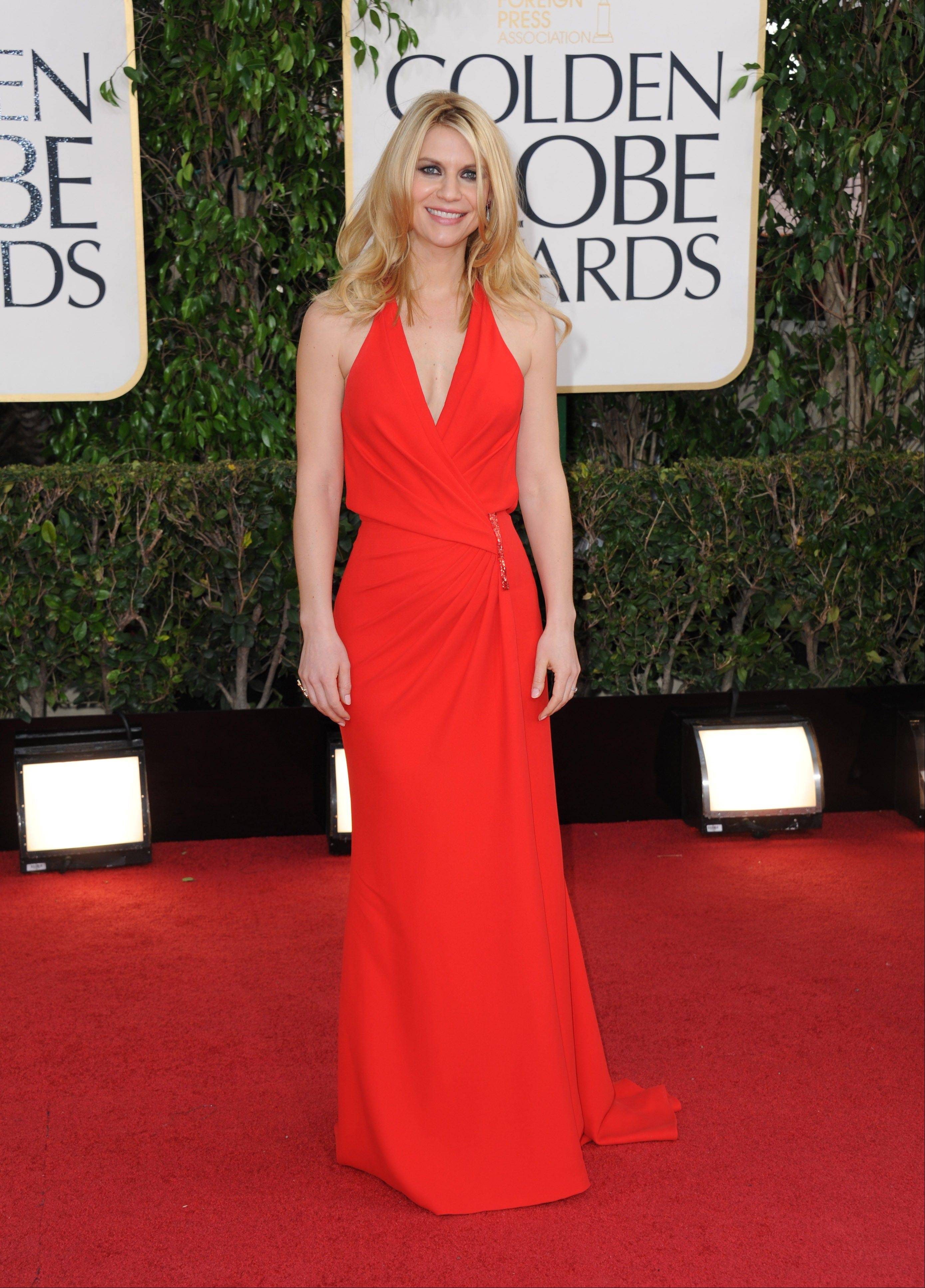 Vintage vibe on the red carpet at Globes