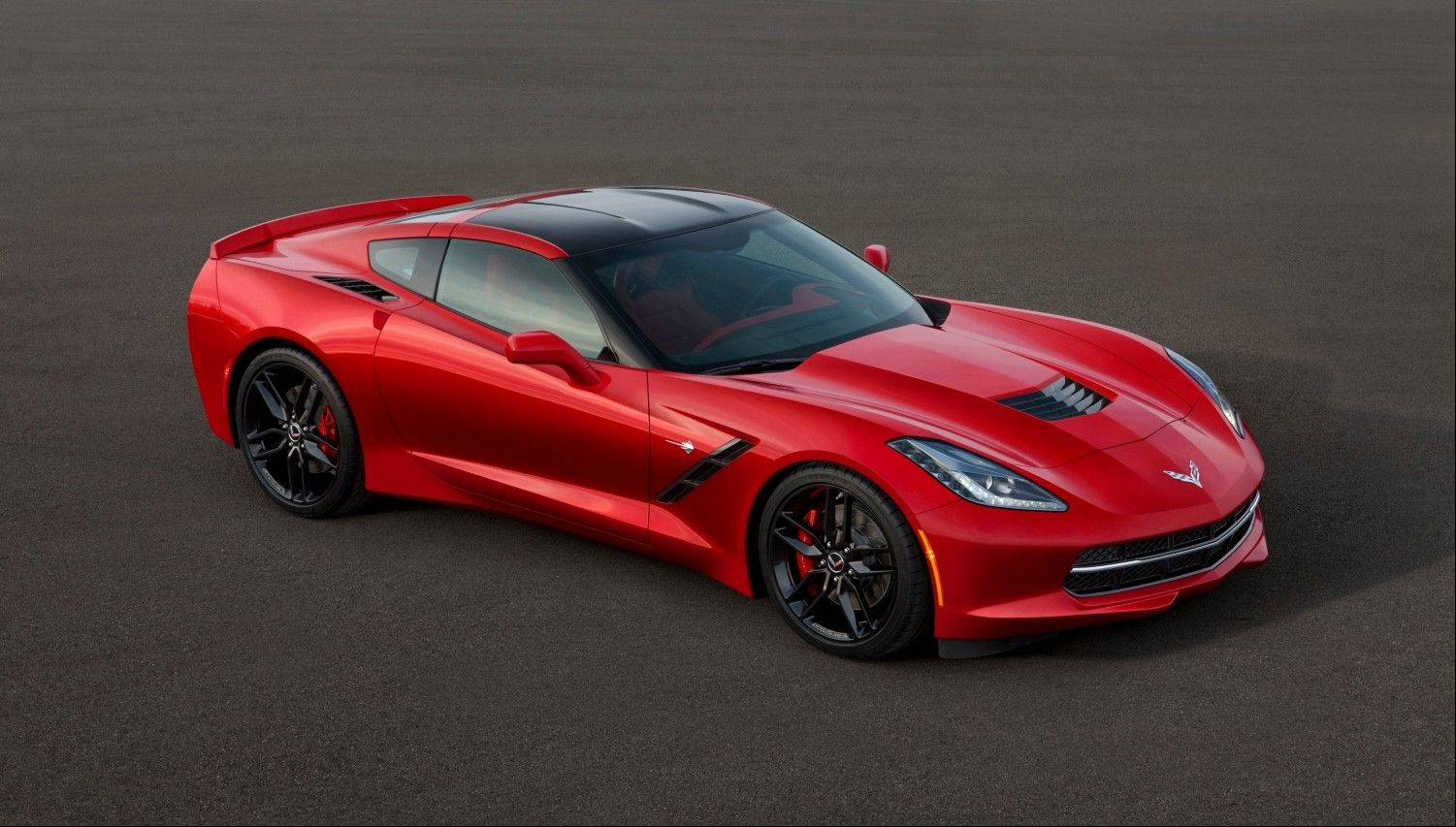 This image provided by General Motors shows the all-new 2014 Chevrolet Corvette Stingray. General Motors unveiled the revamped Corvette, the first new version of the iconic sports car in nine years, Sunday in Detroit.