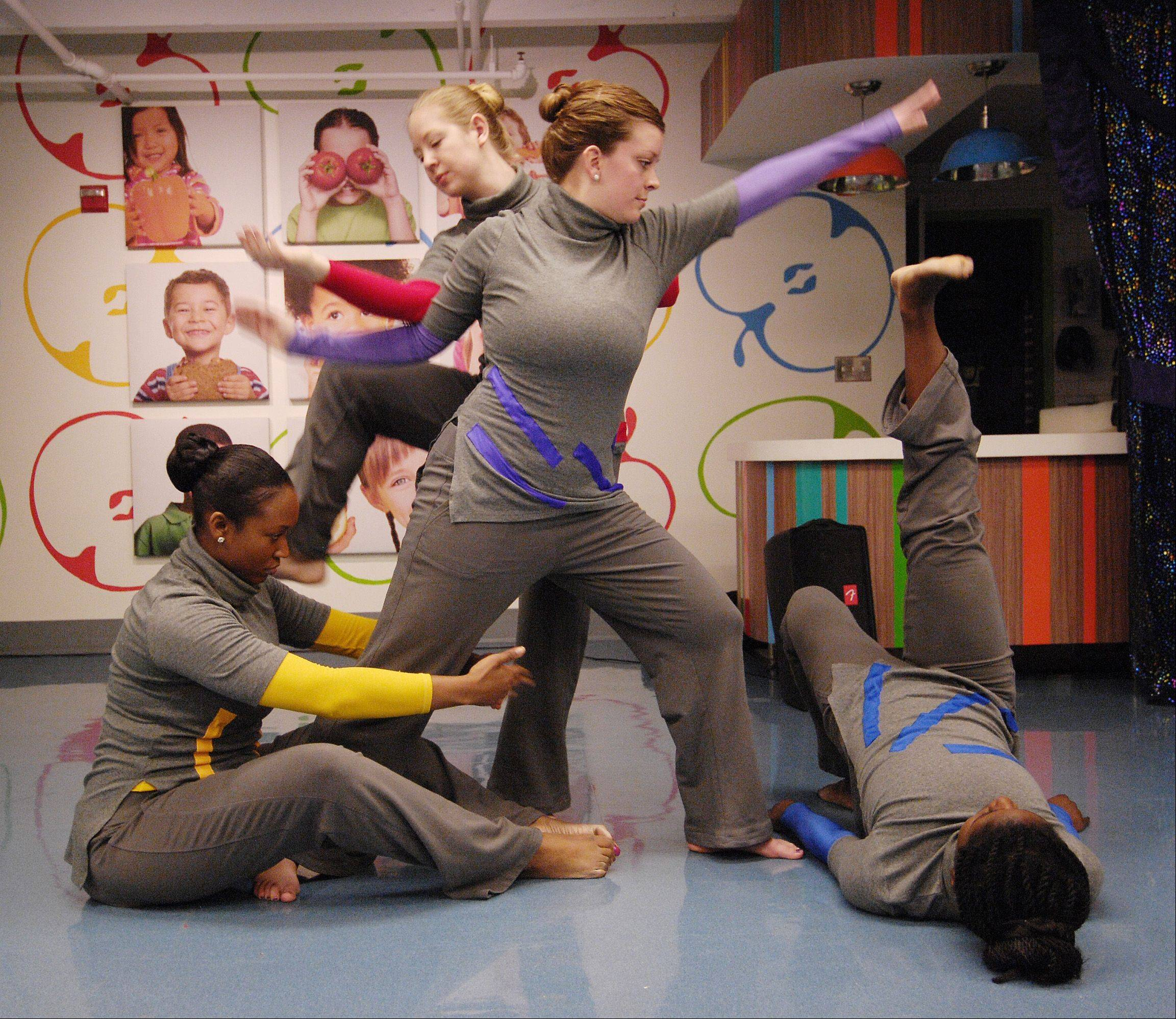 "Perceptual Motion Dance Company performs at the DuPage Children's Museum in Naperville Sunday. The museum is hosting a ""How People Make Things"" exhibit through Jan. 27."