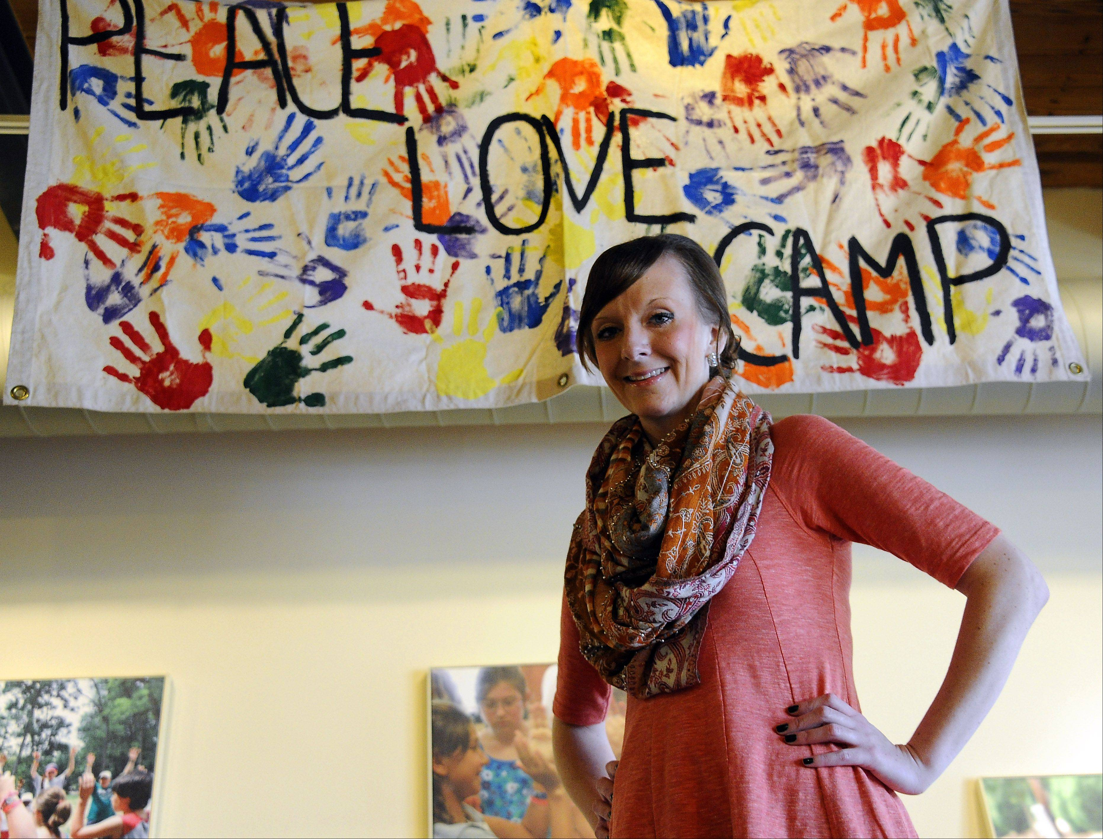 The One Step Camp for kids with cancer revived her spirit and helped save her life when she was diagnosed with pancreatic cancer at age 13, says Colleen McGrath. Now 27 and diagnosed with colon cancer, the Bartlett native says she loves her job with Children's Oncology Services, the charity that runs the camp and other programs for kids with cancer.