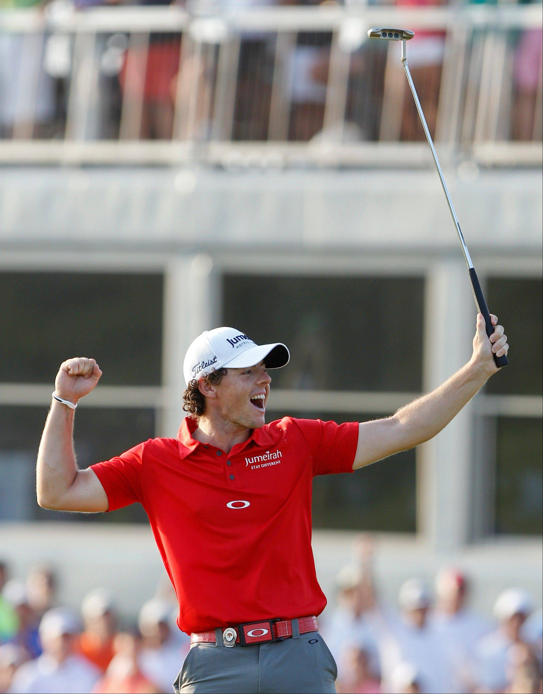 Nike said Monday that it signed a sponsorship deal with No. 1-ranked McIlroy for a reported $200 million.