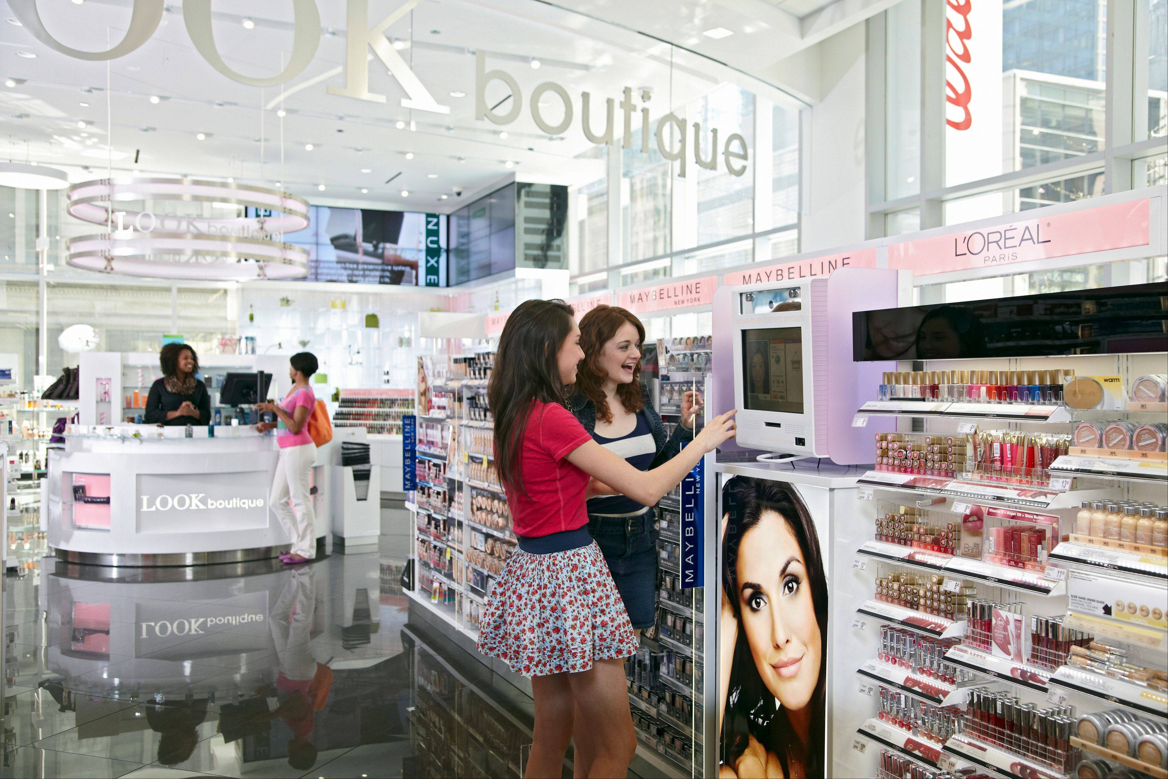 A look at the beauty boutique inside the new Walgreens on State Street in downtown Chicago.