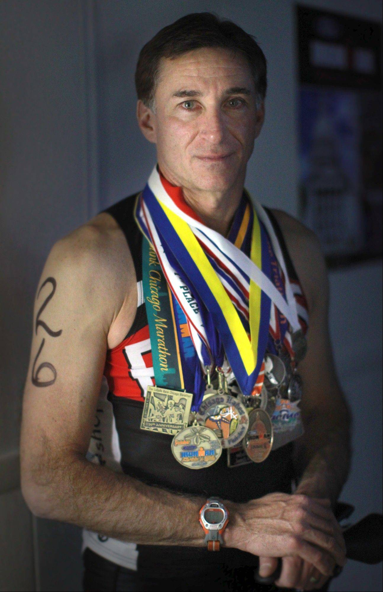 Dave Voss typically doesn't think of himself as a master triathlete. More of a hard worker. He's been fairly active all his 51 years -- a little soccer, baseball, jogging, biking and chasing after bad guys as a Minneapolis cop.