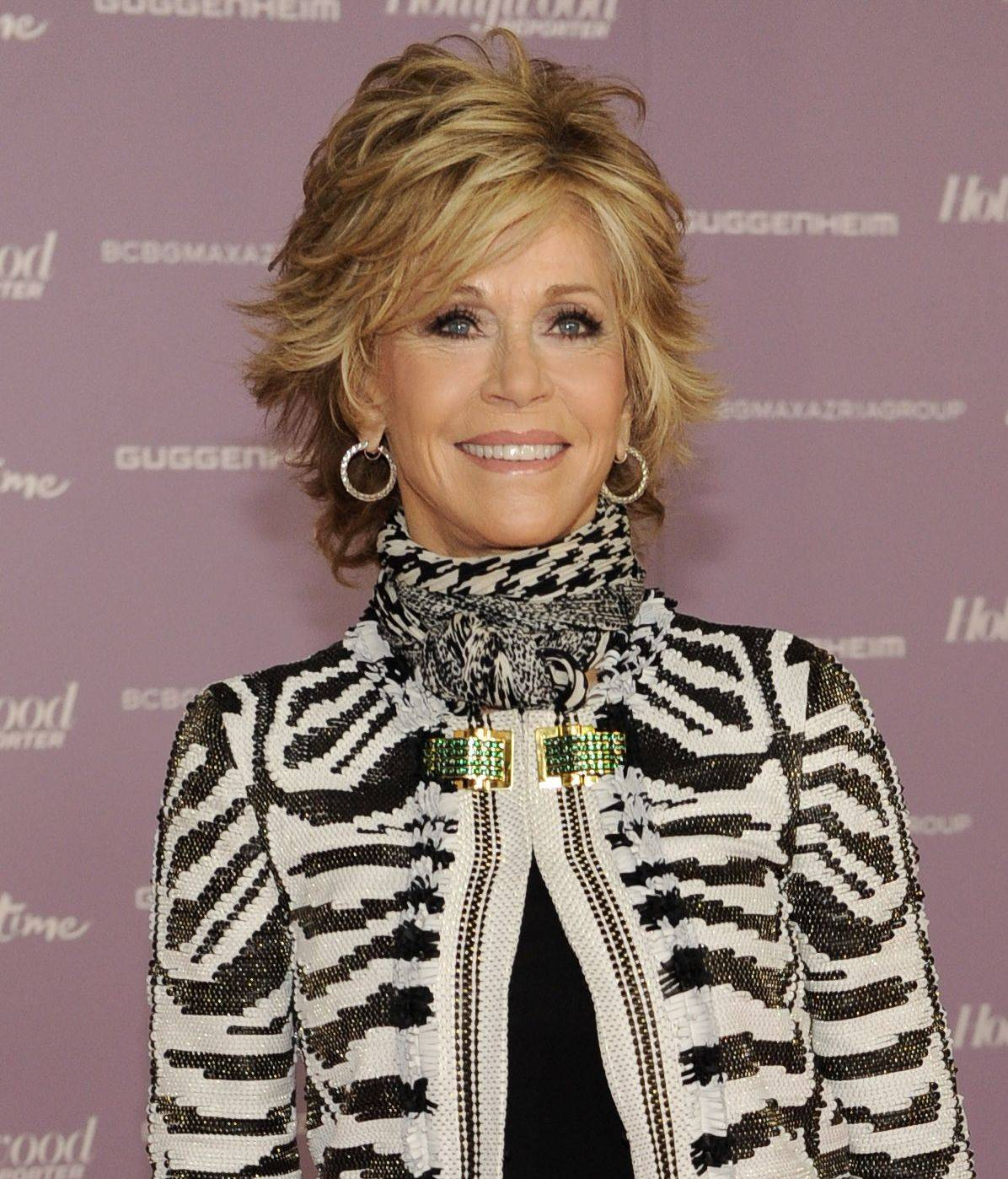"Actress Jane Fonda not only has a new CD on yoga for beginners and a new book, she also plays Nancy Reagan in an upcoming movie called ""The Butler."""