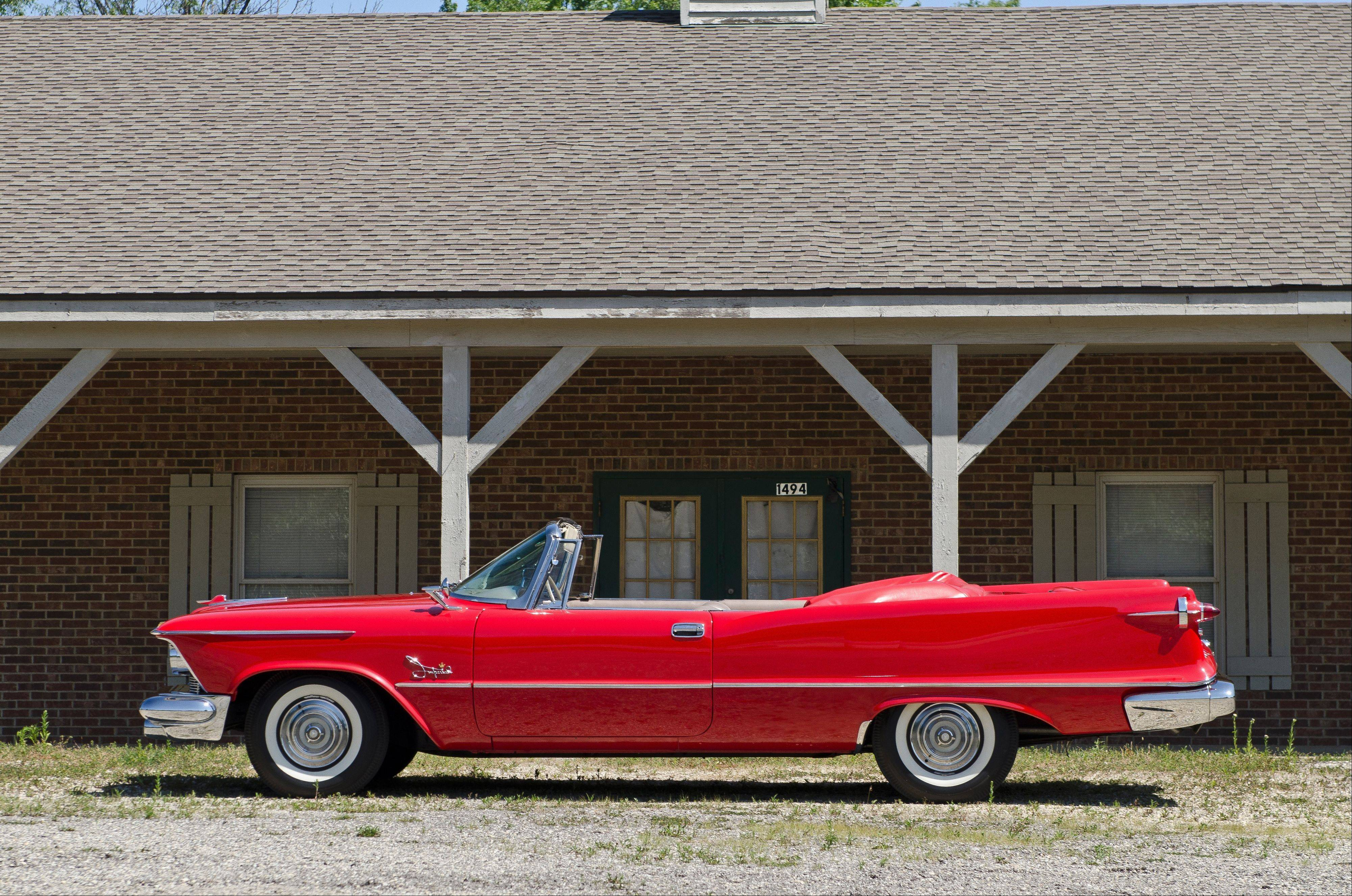 1958 Chrysler Imperial Crown convertible, Jimmy Reaney, Palatine