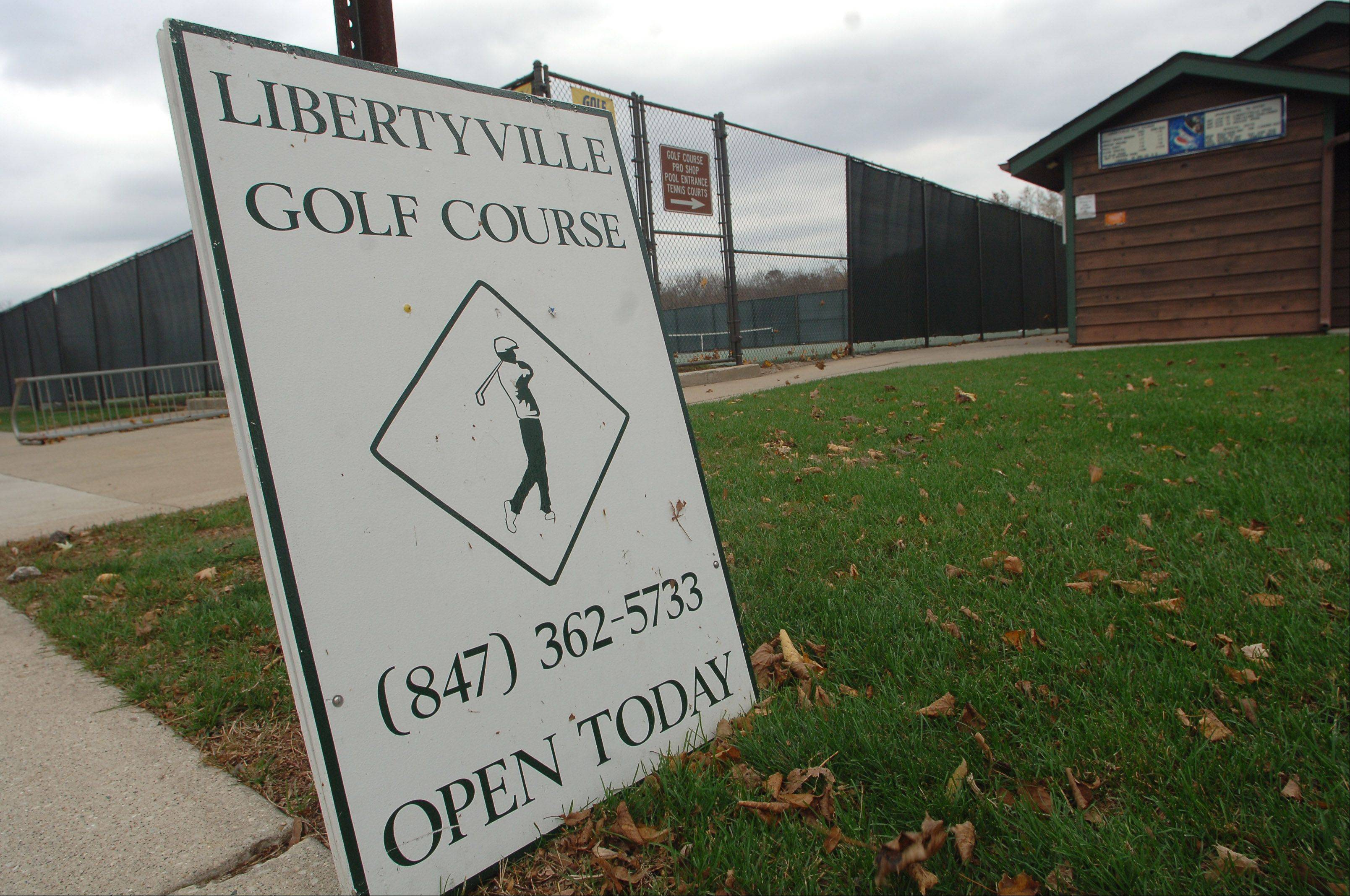 The Libertyville Golf Course near Riverside Park no longer will be operated by the village.