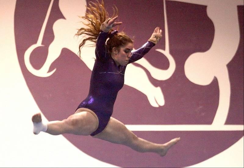 st charles gymnastics meet 2014