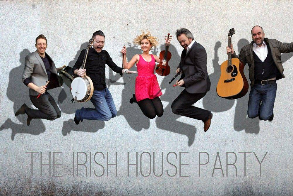 A rousing Irish House Party takes place Friday, Jan. 25 at Raue Center for the Arts in Crystal Lake.