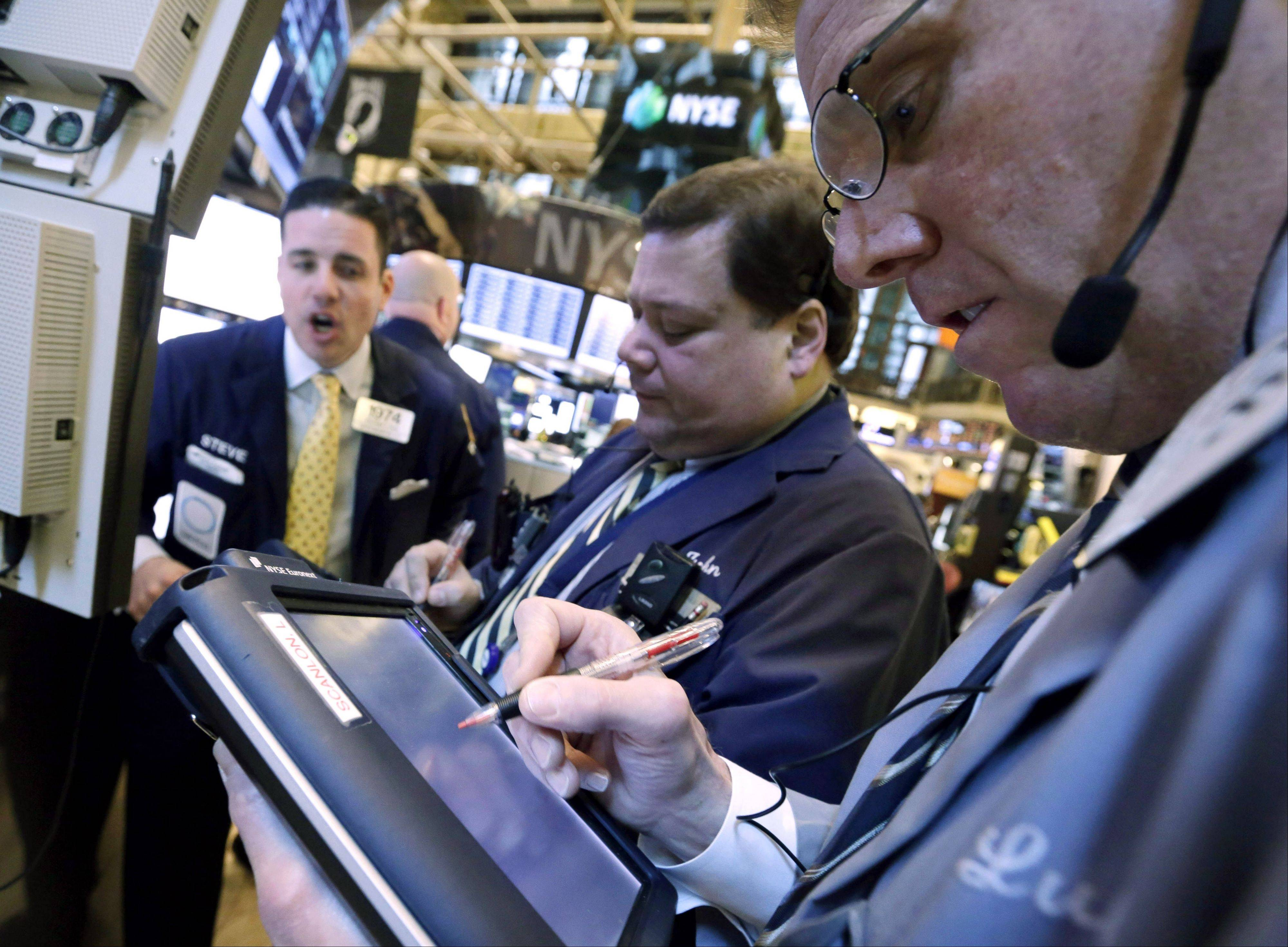 U.S. stocks advanced Tuesday, rebounding from earlier losses in the Standard & Poor�s 500 Index, as a rally in retail and transportation companies overshadowed concern about discussions on raising the debt ceiling.