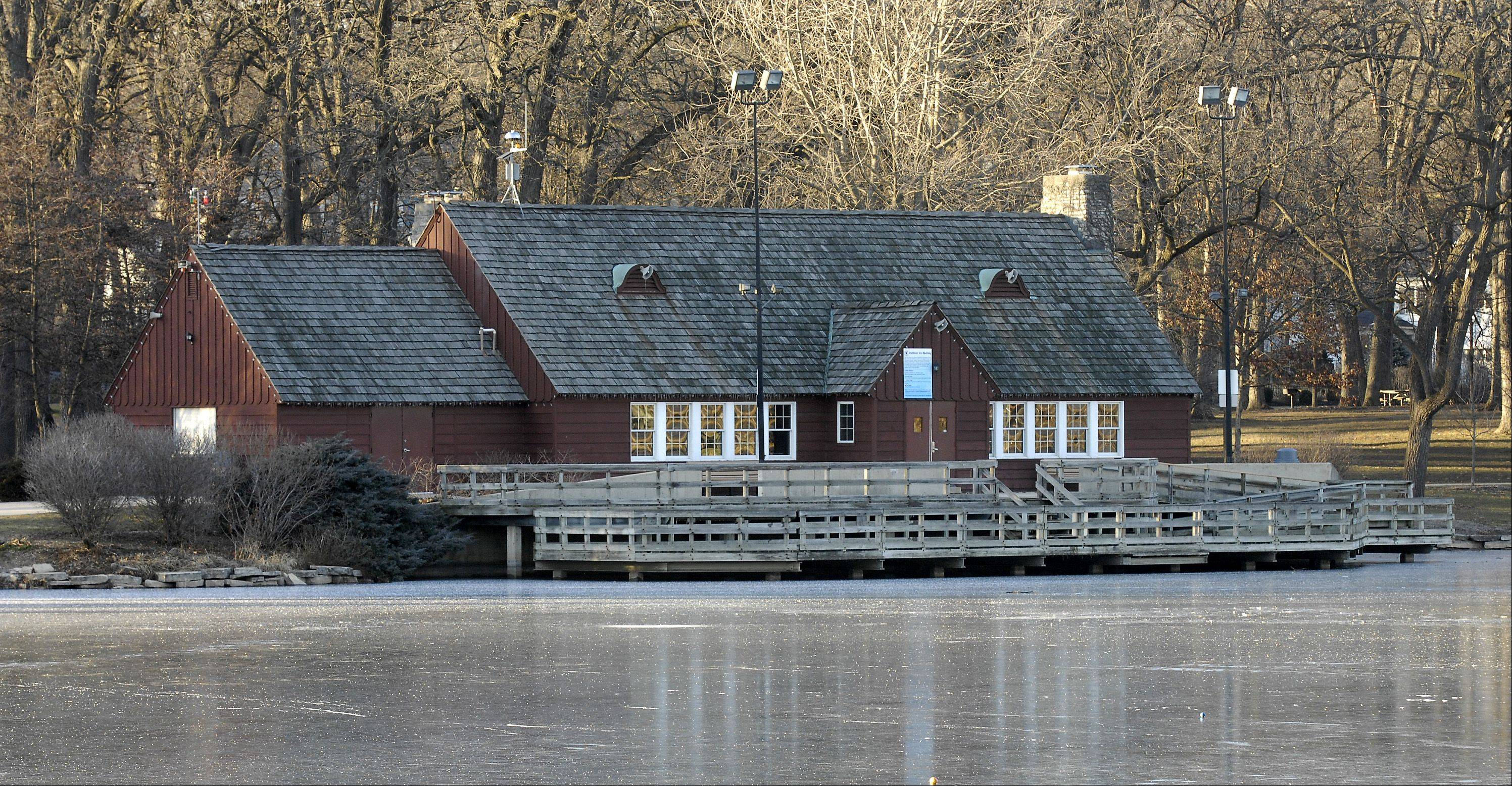 Lake Ellyn Park in Glen Ellyn has been a community gathering spot and recreation space for more than a century. The park district's master plan for the park recommends several improvements, including renovations to the 75-year-old boathouse that would restore its historical features.