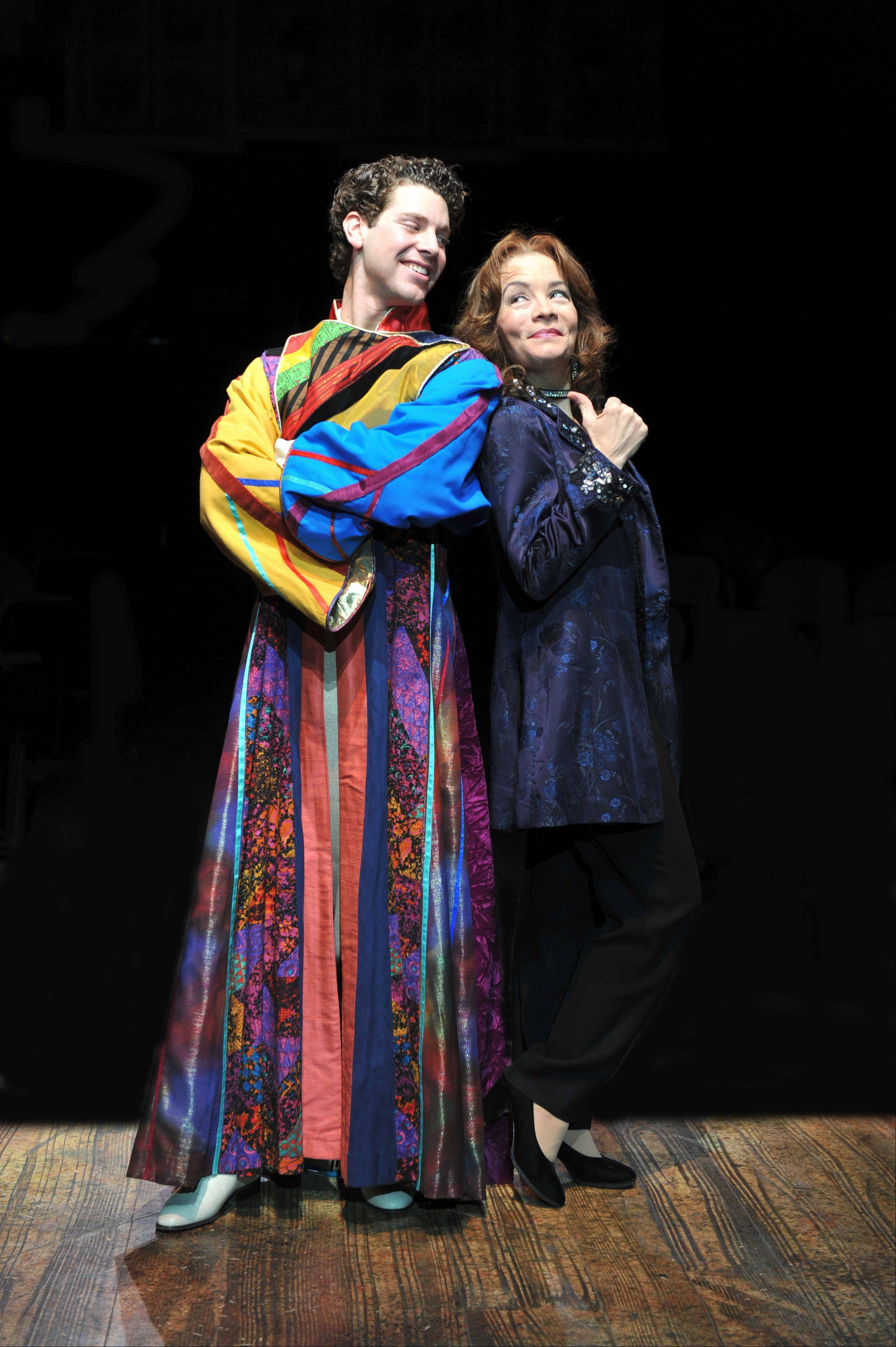 "Max Quinlan and Susan Moniz starred in Marriott Theatre's 2009 production of Andrew Lloyd Webber and Tim Rice's musical ""Joseph and the Technicolor Dreamcoat."" The performers are also part of the cast of the world-premiere revue ""Now & Forever: The Music of Andrew Lloyd Webber."""
