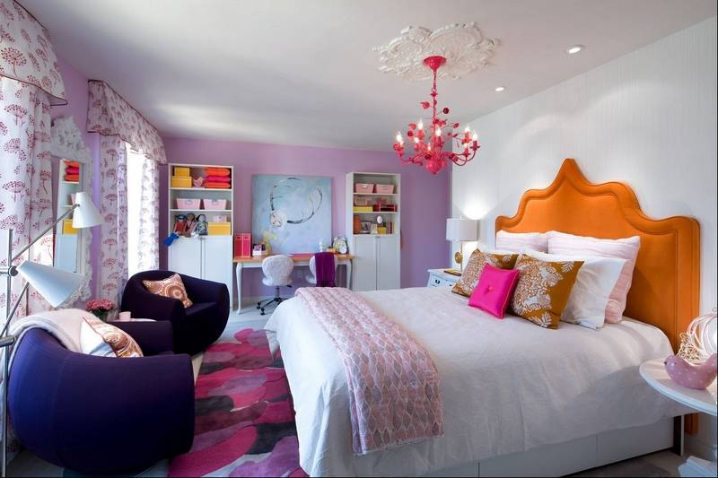 Sisters 39 bedrooms reflect different personalities for Candice olson teenage bedroom designs