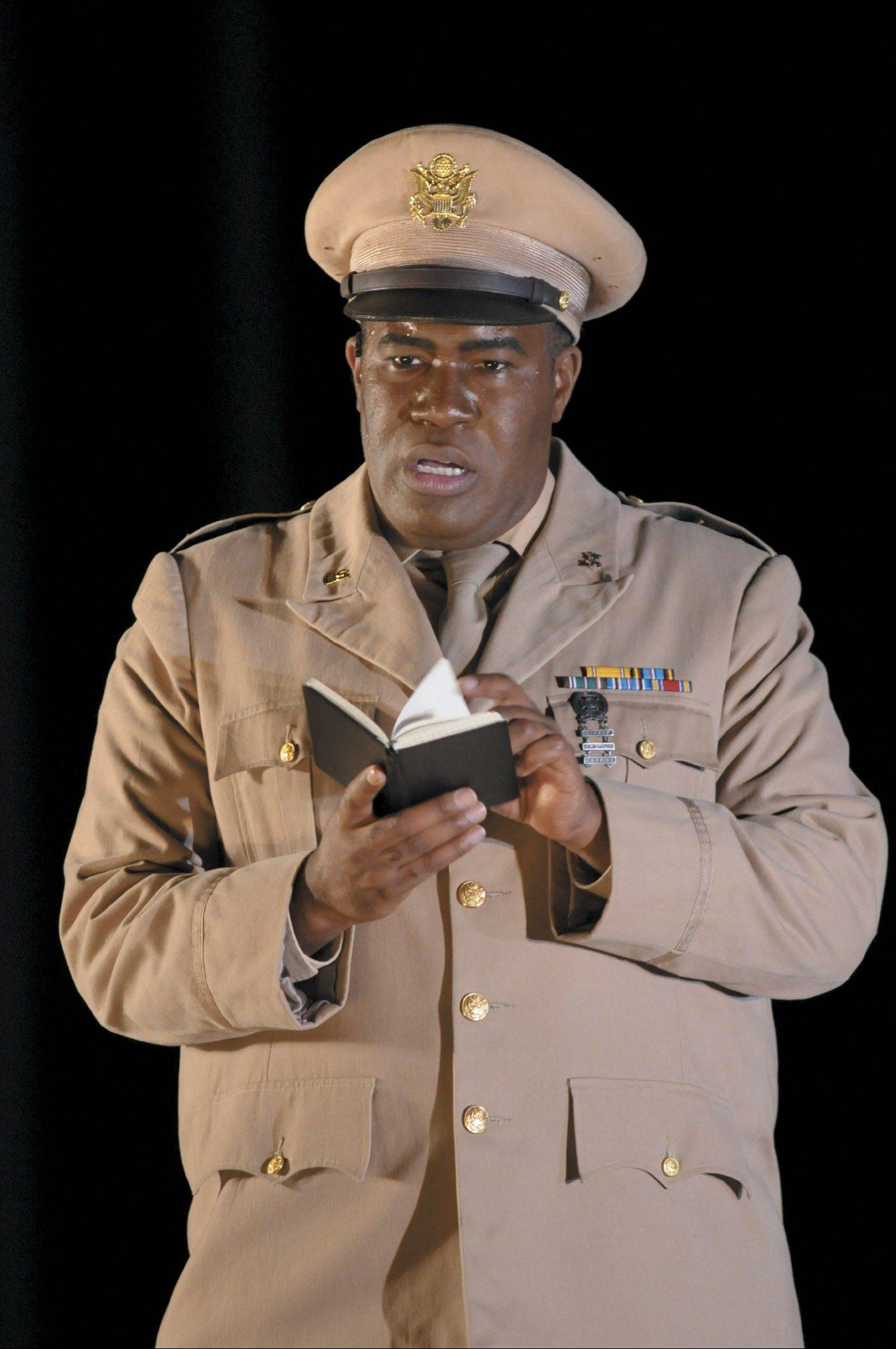 "American bass-baritone Eric Owens (pictured here in the Lyric Opera of Chicago's ""Doctor Atomic"") is a guest vocalist and conductor with the Chicago Sinfonietta Annual Tribute to Dr. Martin Luther King Jr. in Chicago and Naperville."