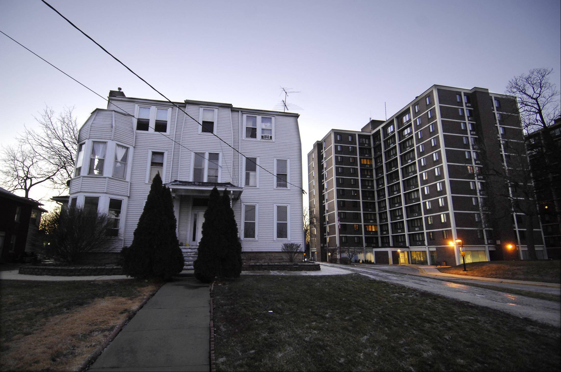 The Elgin Housing Authority expects to receive $7.5 million in federal funds to rehab Central Park Towers at 120 S. State St. in Elgin. The EHA also owns the building next door and wants demolish it to build another apartment building, if possible.