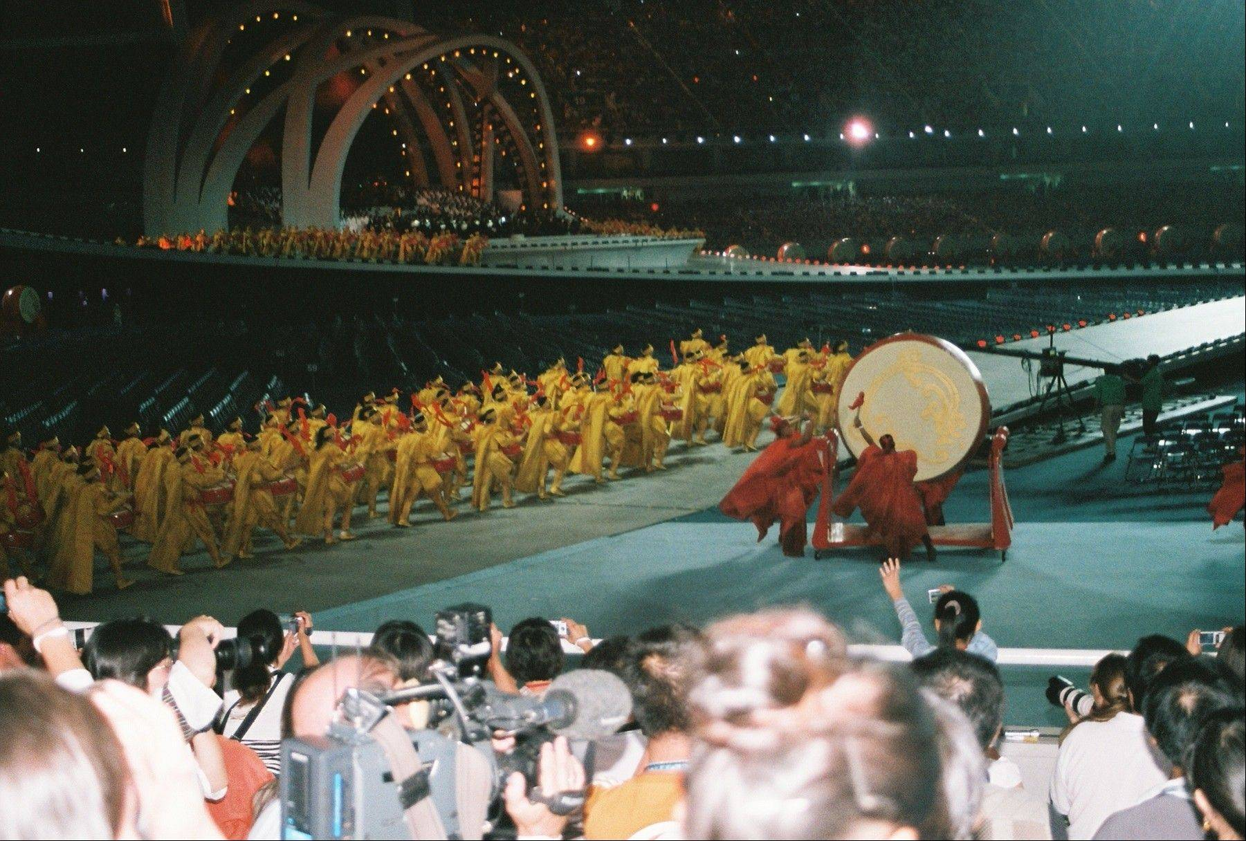 The opening ceremonies of the 2007 Special Olympics World Summer Games in Shanghai, China -- the last time a Special Olympics World Games was held in Asia.