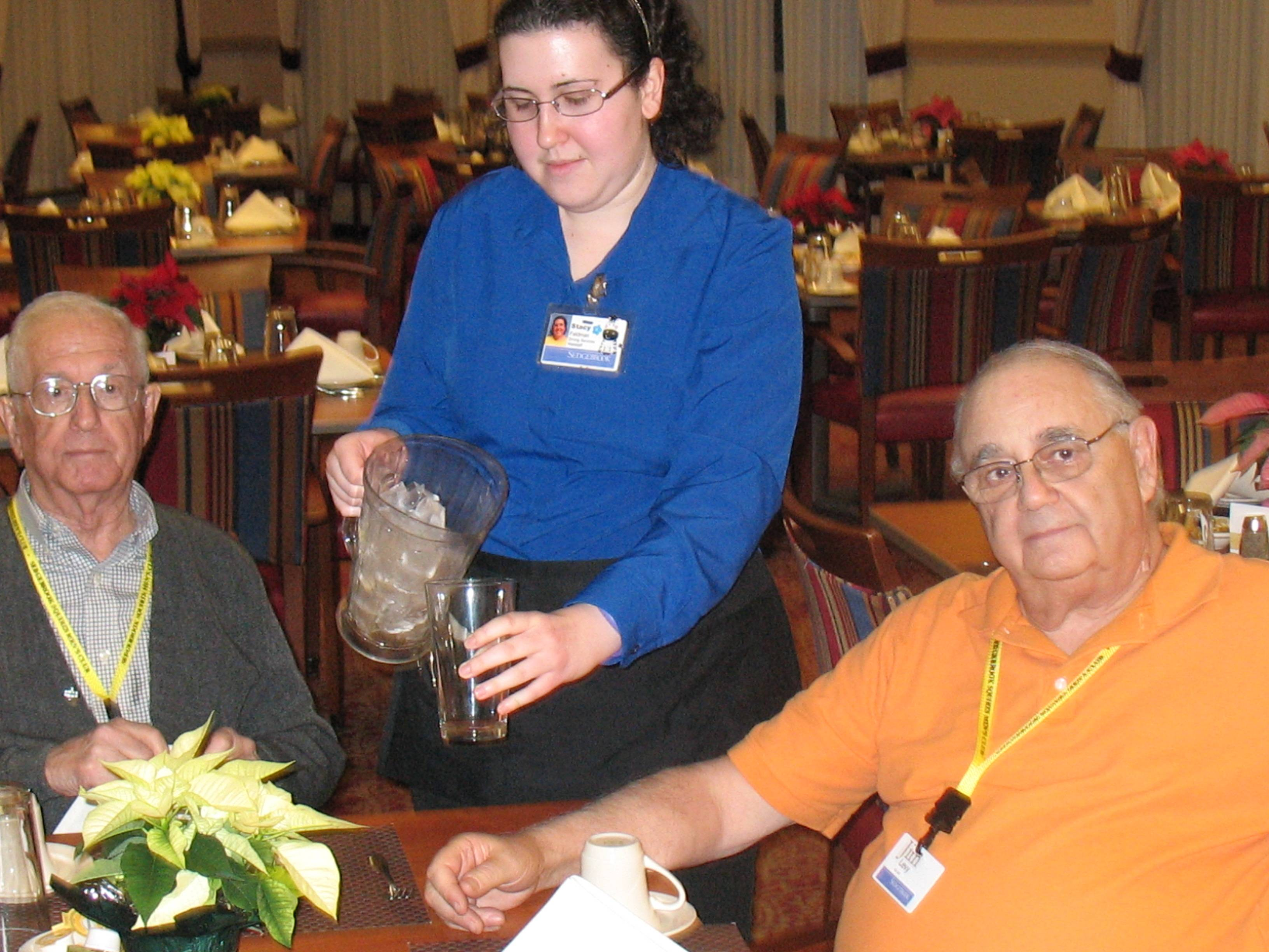 Residents and Servers at Sedgebrook retirement community in Lincolnshire make lasting connections.