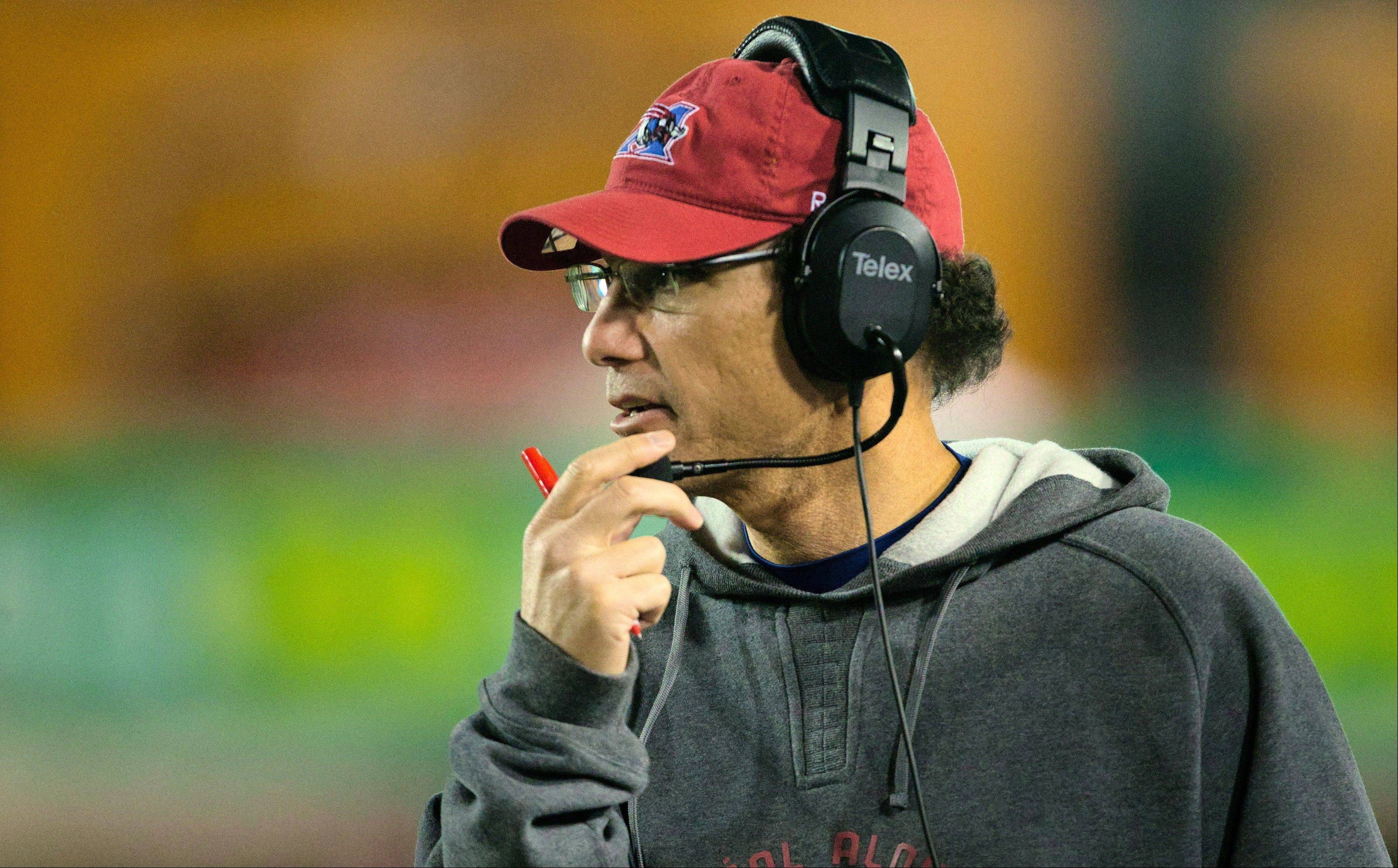 After winning two CFL titles with the Montreal Alouettes, Marc Trestman was hired by the Chicago Bears on Wednesday to be their head coach.