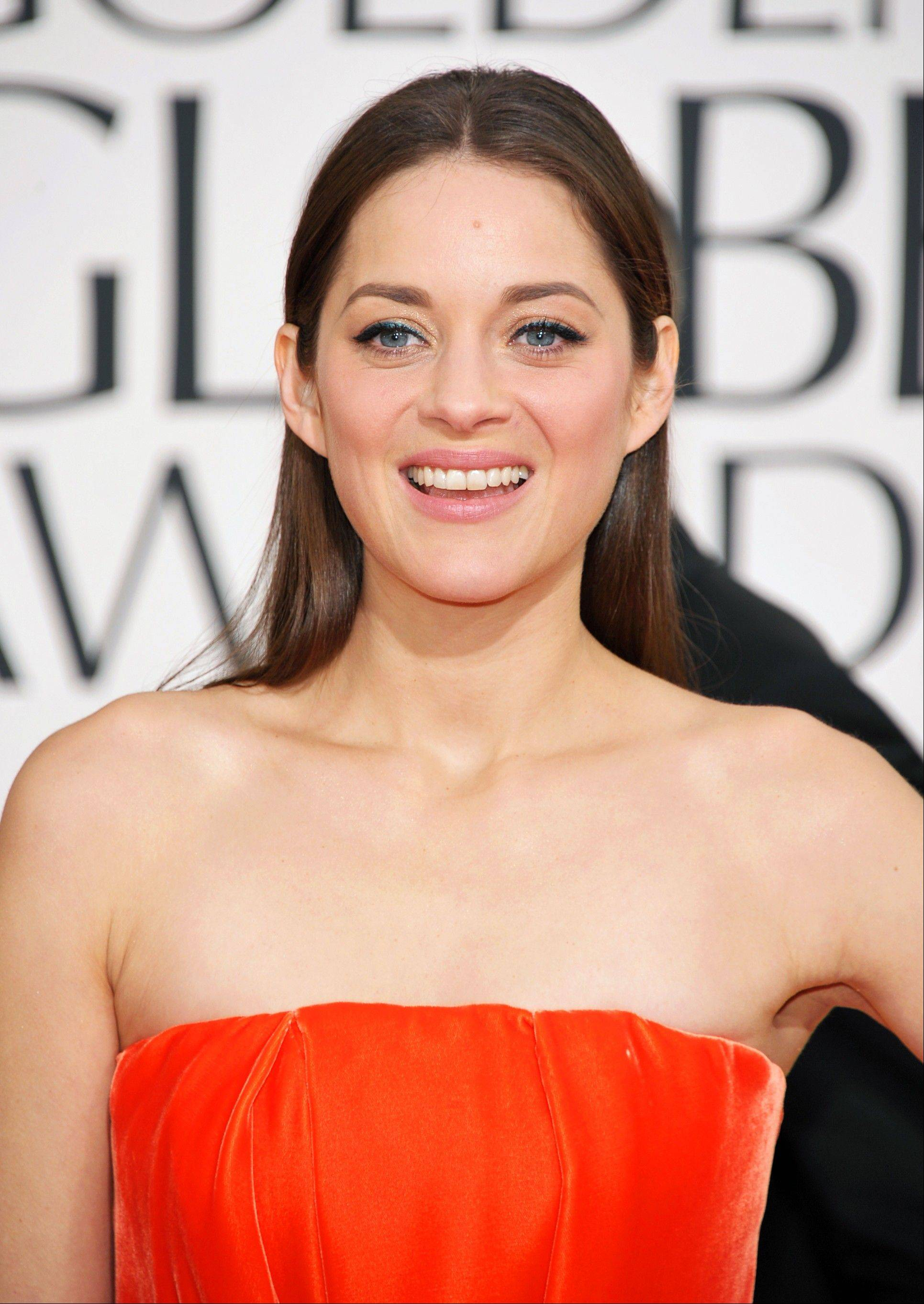 Marion Cotillard has been named the 2013 Harvard University Hasty Pudding Theatricals Woman of the Year.