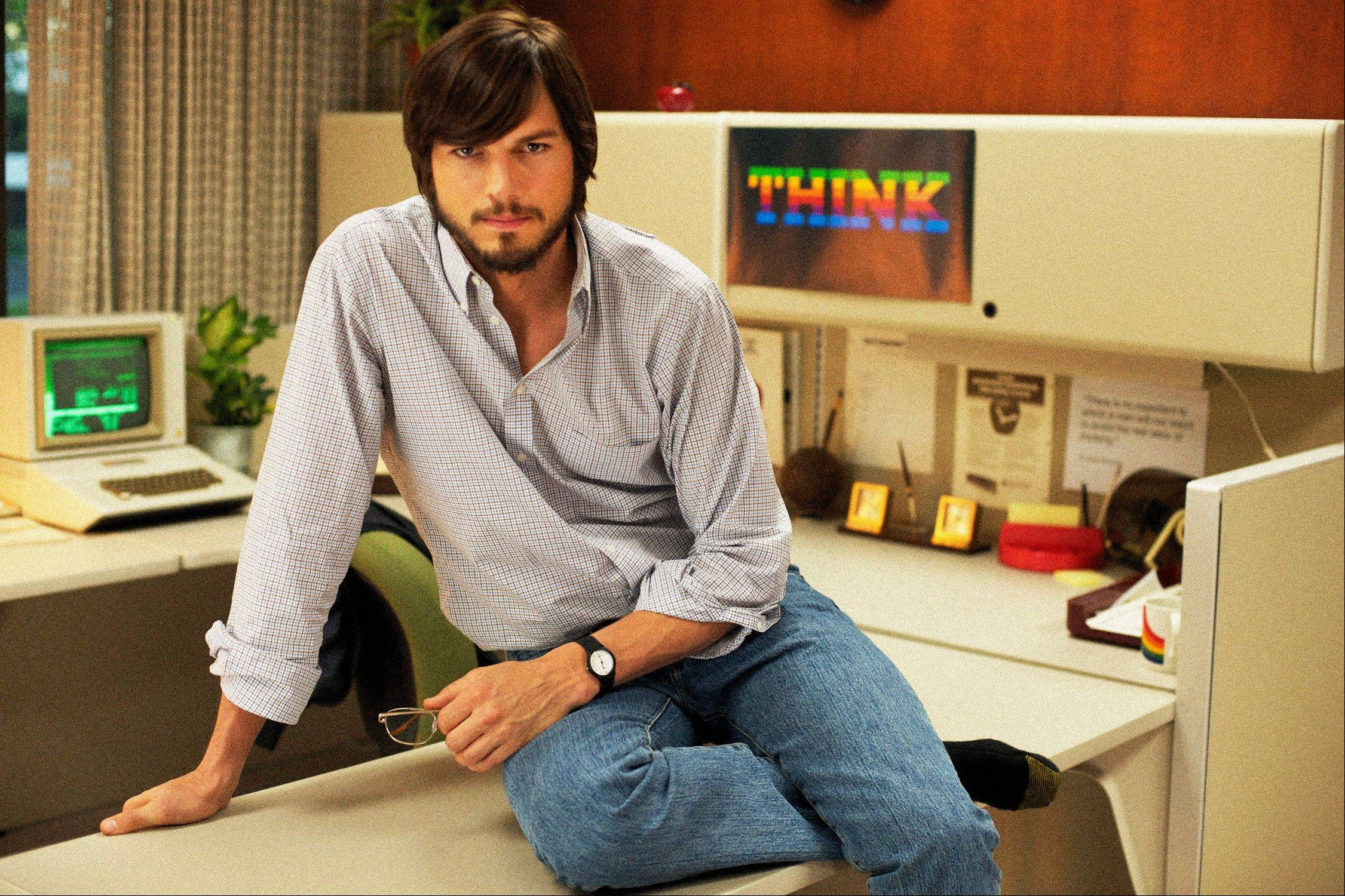 "Ashton Kutcher as Steve Jobs in the film, ""jOBS,"" directed by Joshua Michael Stern. The Sundance Film Festival begins Thursday in Park City, Utah, and will feature a huge lineup of independent films."