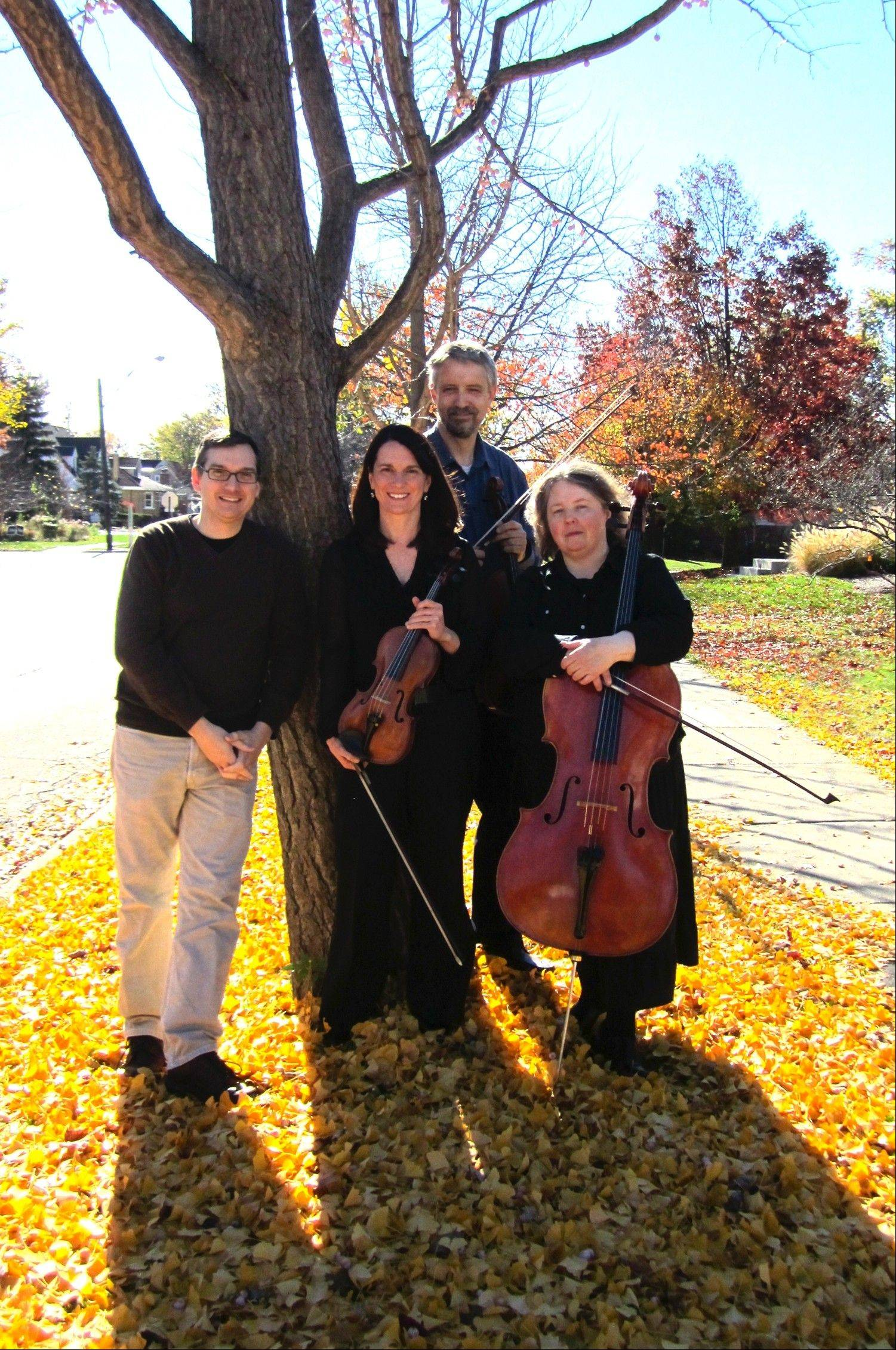 The Chicago Philharmonic Chamber Players perform Schoenfield's Cafe Music for Piano Trio and Faure's Piano Quartet No. 1 in a concert at St. Luke's Lutheran Church in Park Ridge.