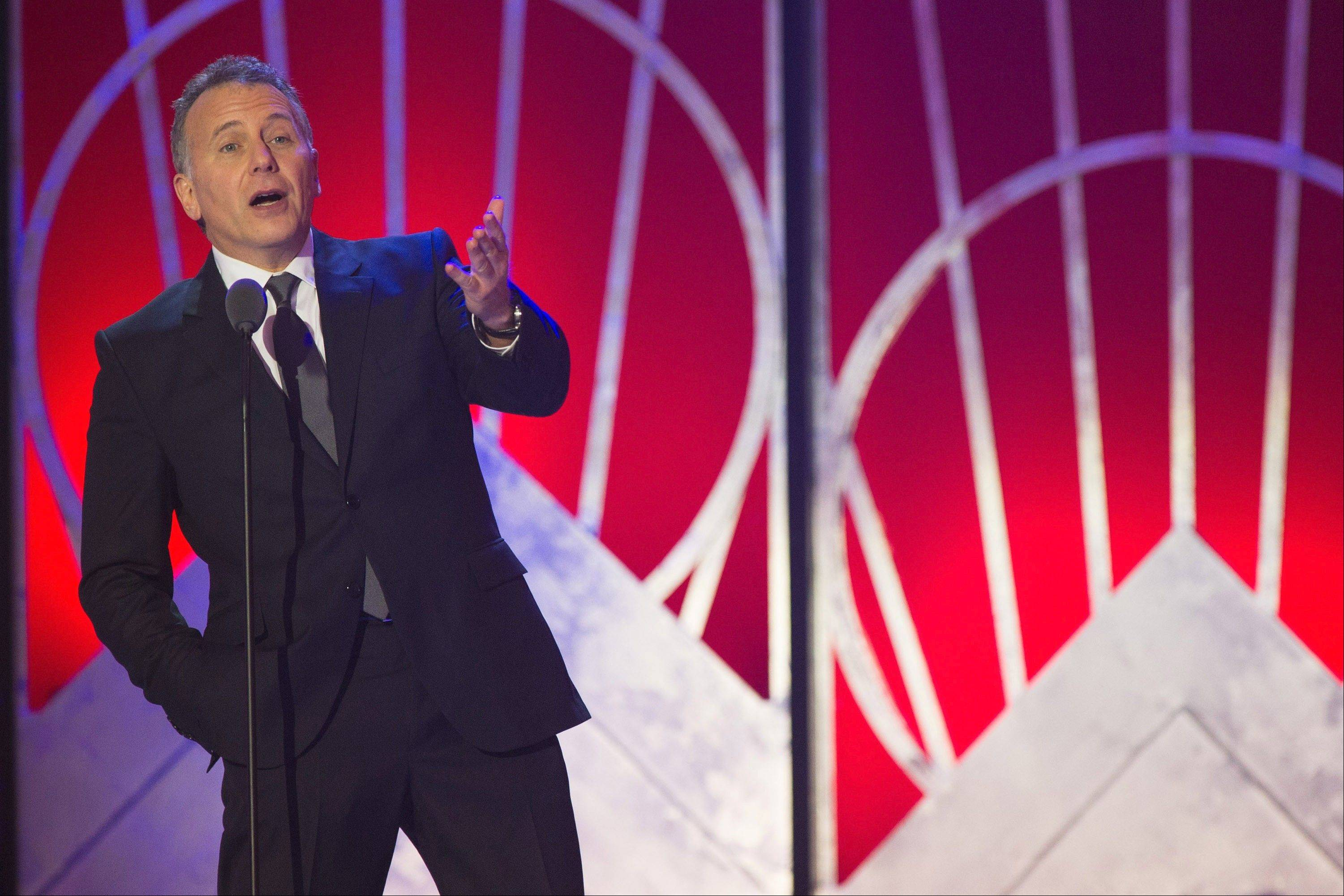 Comedian Paul Reiser returns this weekend to Zanies Comedy Club in Rosemont.