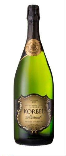 Korbel Russian River Valley Natural Champagne will be served at President Obama's post-inauguration luncheon.