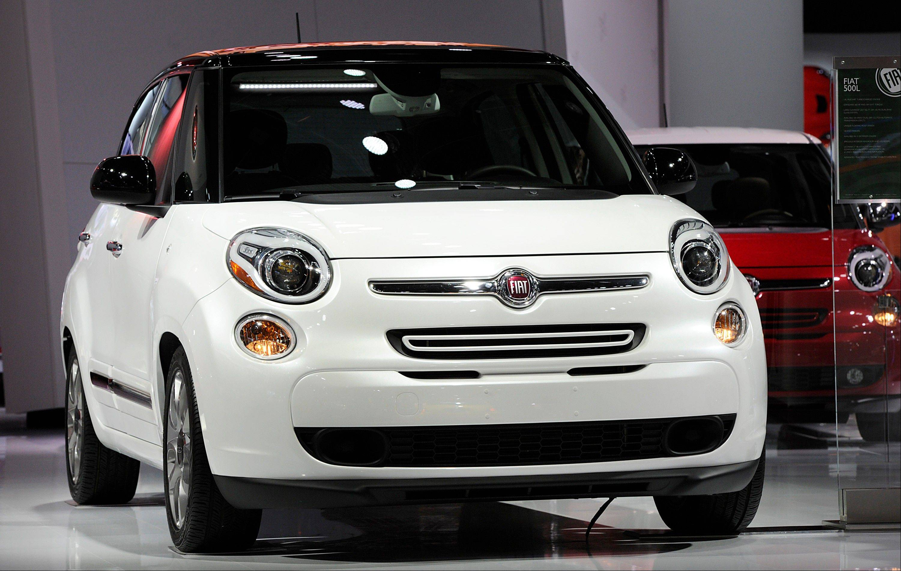 The Fiat SpA Abarth vehicle is displayed during the 2013 North American International Auto Show (NAIAS) in Detroit, Michigan, U.S., on Tuesday, Jan. 15, 2013. The Detroit auto show runs through Jan. 27 and will display over 500 vehicles, representing the most innovative designs in the world.