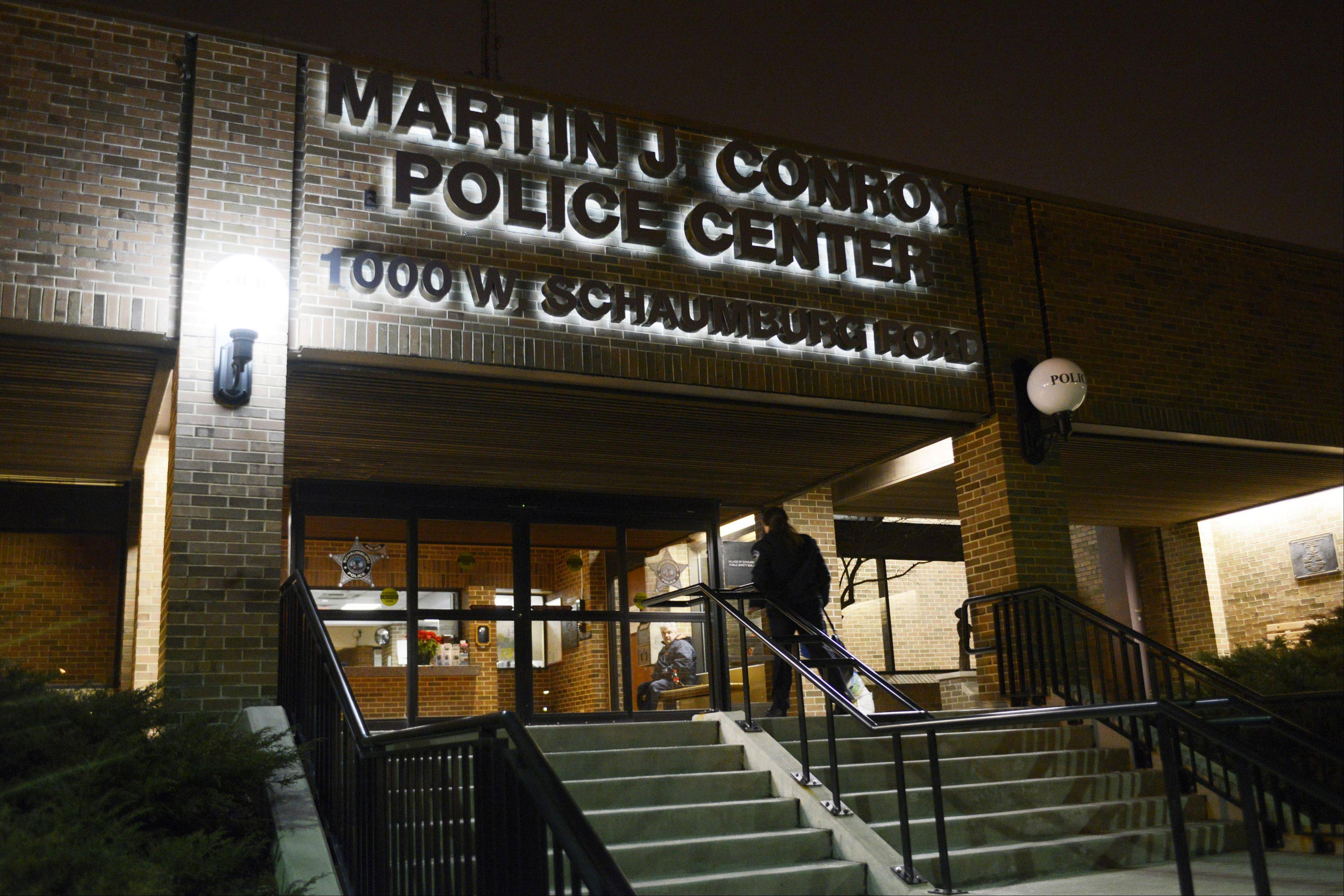Federal agents from the U.S. Drug Enforcement Administration reportedly served search warrants Wednesday at the Schaumburg police department after the arrests of three village police officers on drug-related charges.