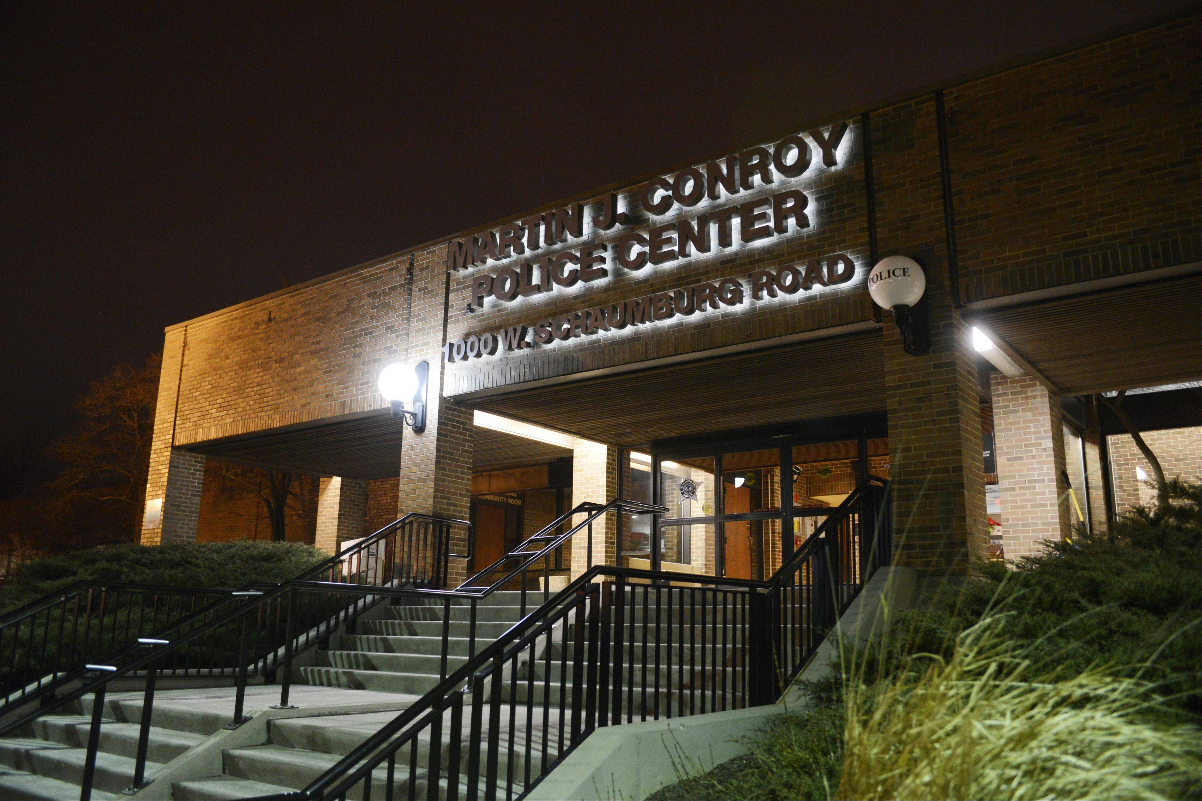 Federal agents from the U.S. Drug Enforcement Administration reportedly served search warrants Wednesday at the Schaumburg police department after the arrest of three village police officers on drug-related charges.