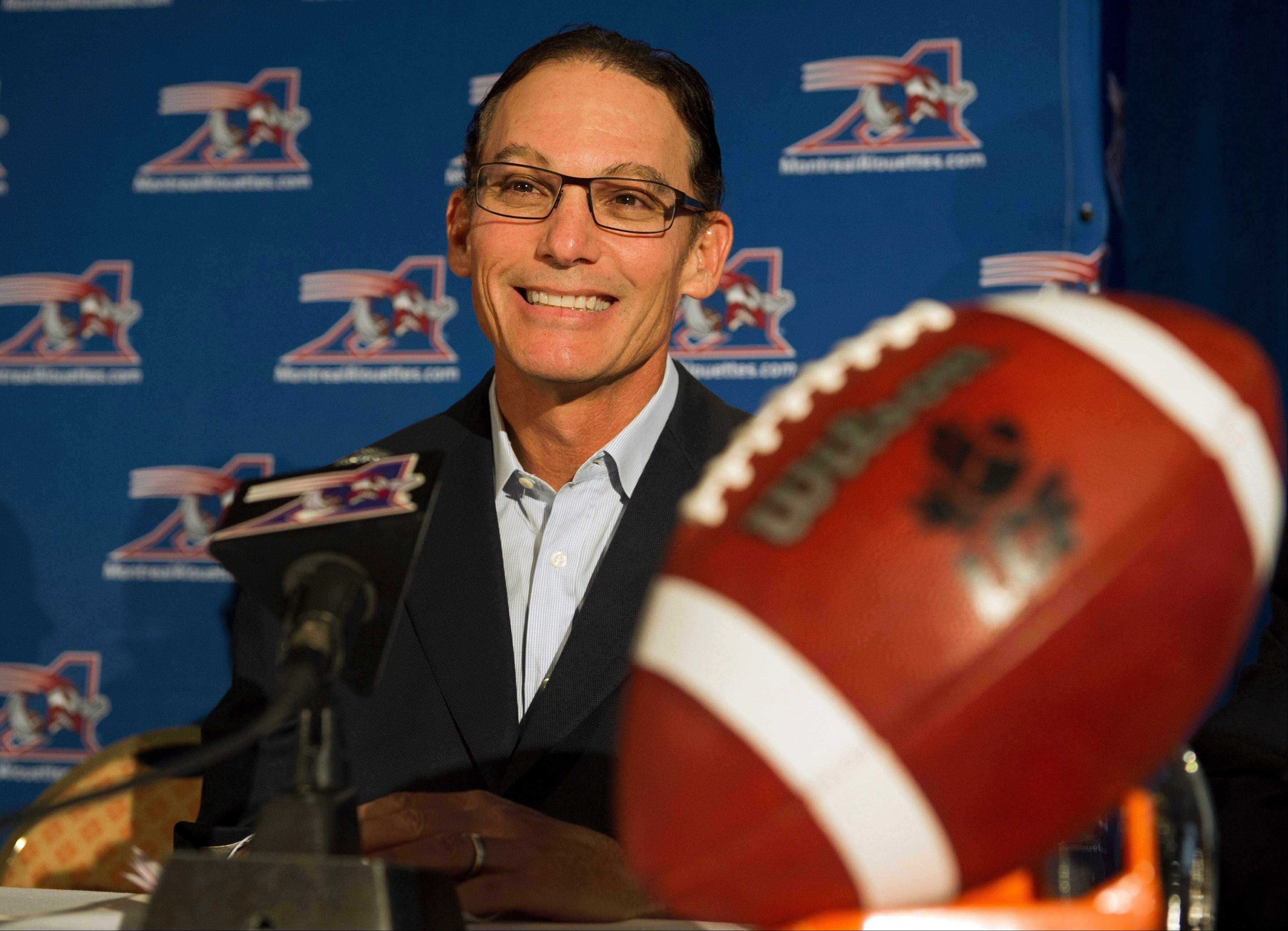 After 17 years in the NFL and five years with the Montreal Alouettes, 57-year-old Mark Trestman is the new head coach of the Chicago Bears.