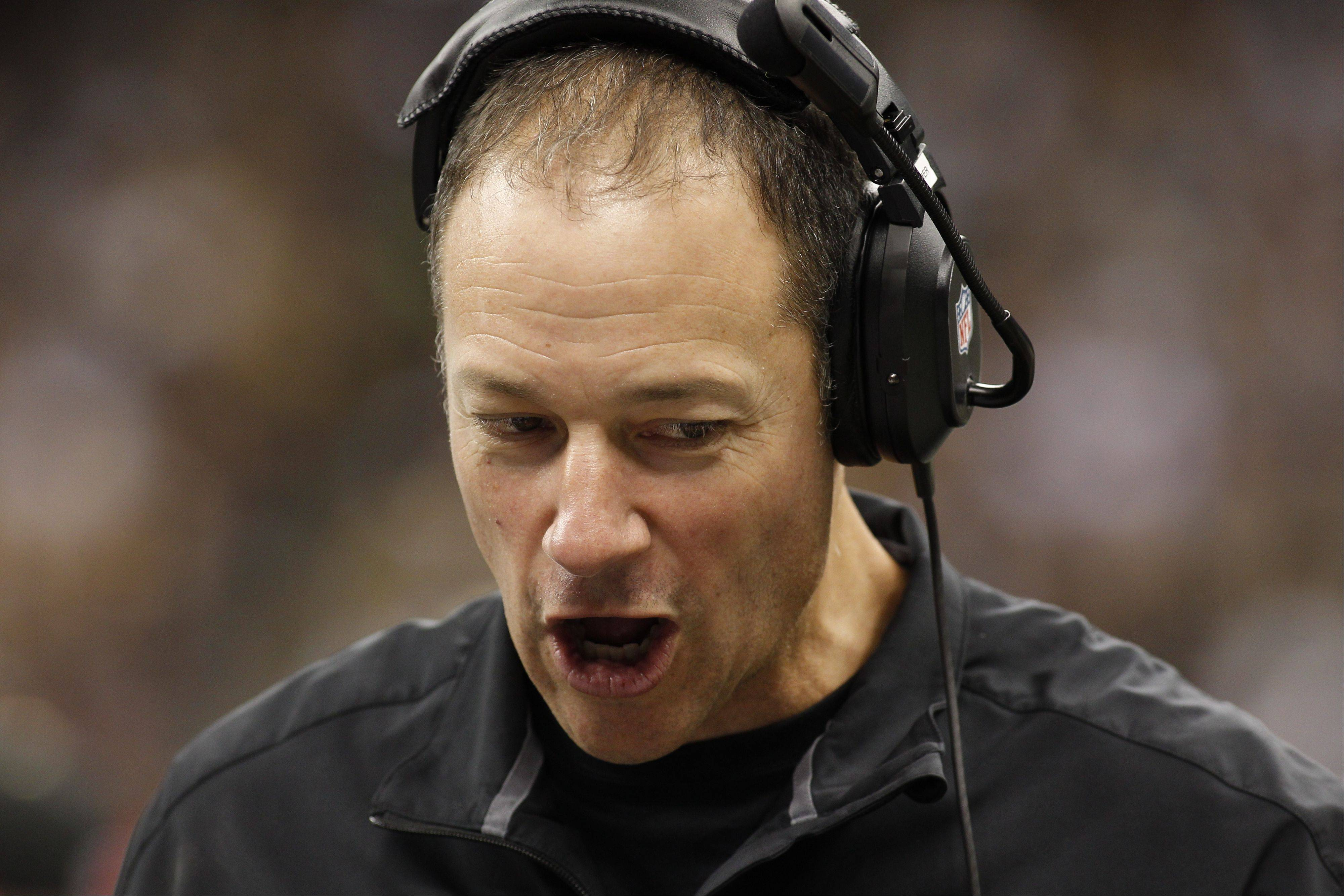 Although new Bears head coach Marc Trestman will likely call the plays from the sideline, the Bears have hired former New Orleans Saints interim head coach Aaron Kromer as the team's offensive coordinator and offensive line coach.