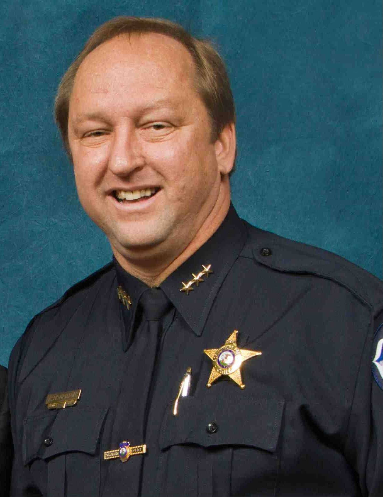 Schaumburg Police Chief Brian S. Howerton