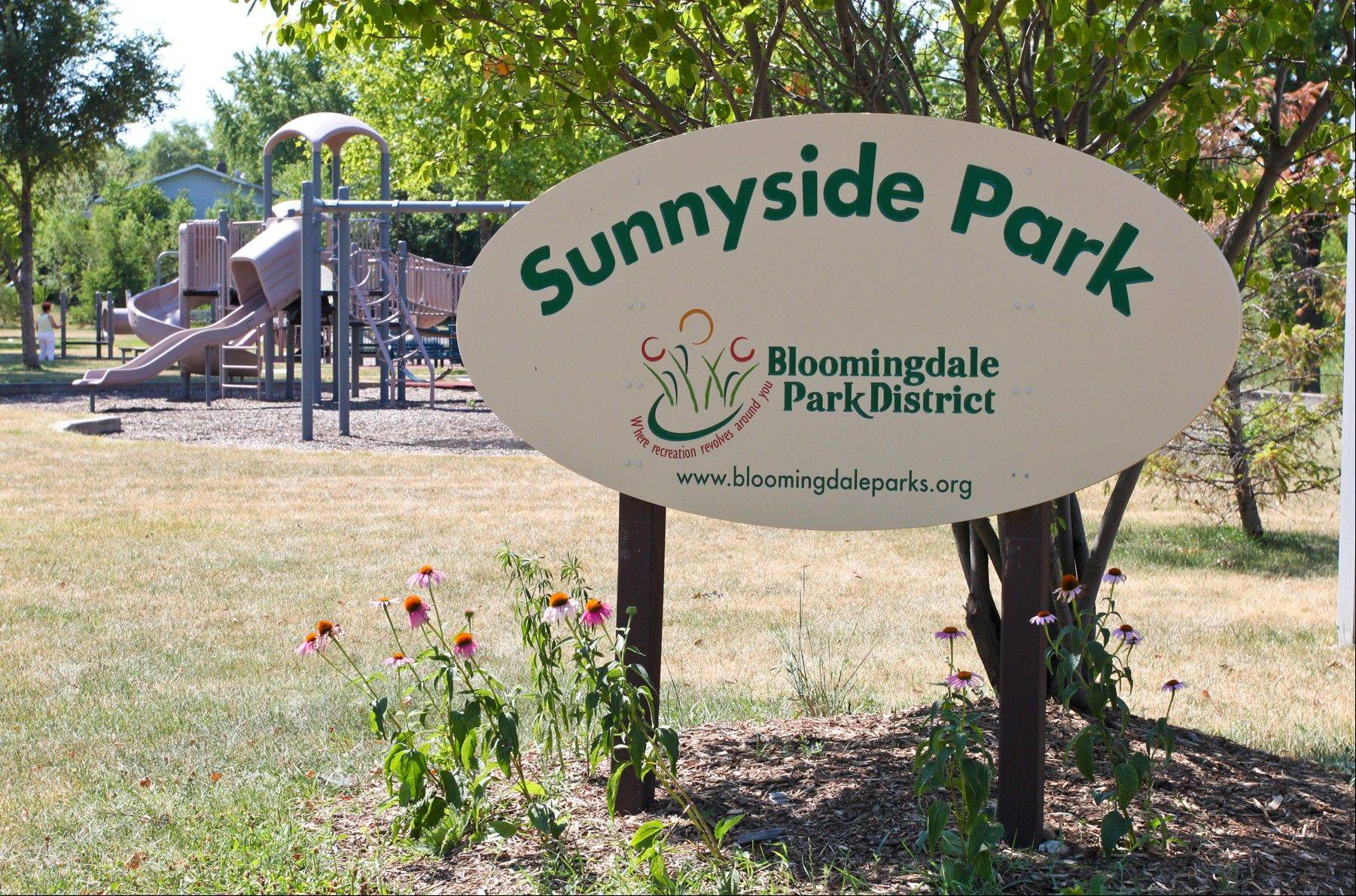 Bloomingdale Park District is planning to renovate the playground structure at Sunnyside Park.