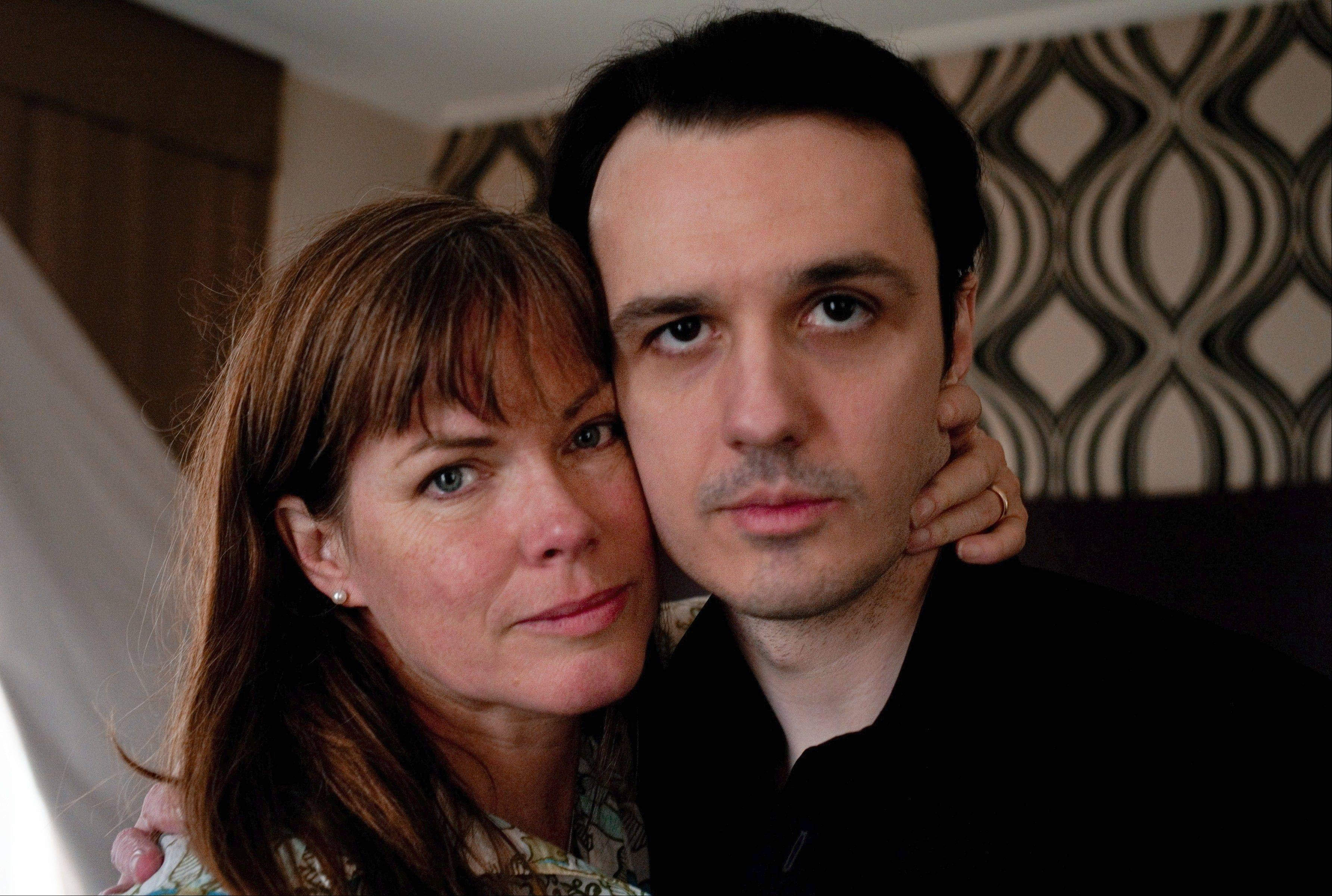 "Damien Echols met his future wife Lorri Davis while in prison on charges of murdering three boys in Arkansas. The two are now producers of Amy Berg's documentary about his case, ""West of Memphis."""