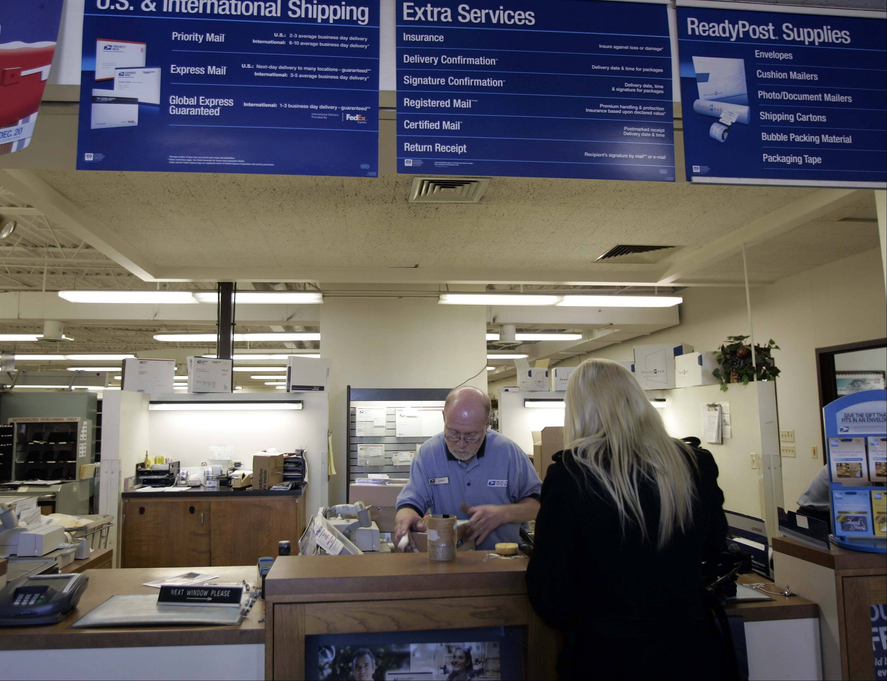 Customers at the West Dundee post office will soon have to do without the friendly and efficient service of longtime employee Gary Steinmann, who retires Jan. 31.
