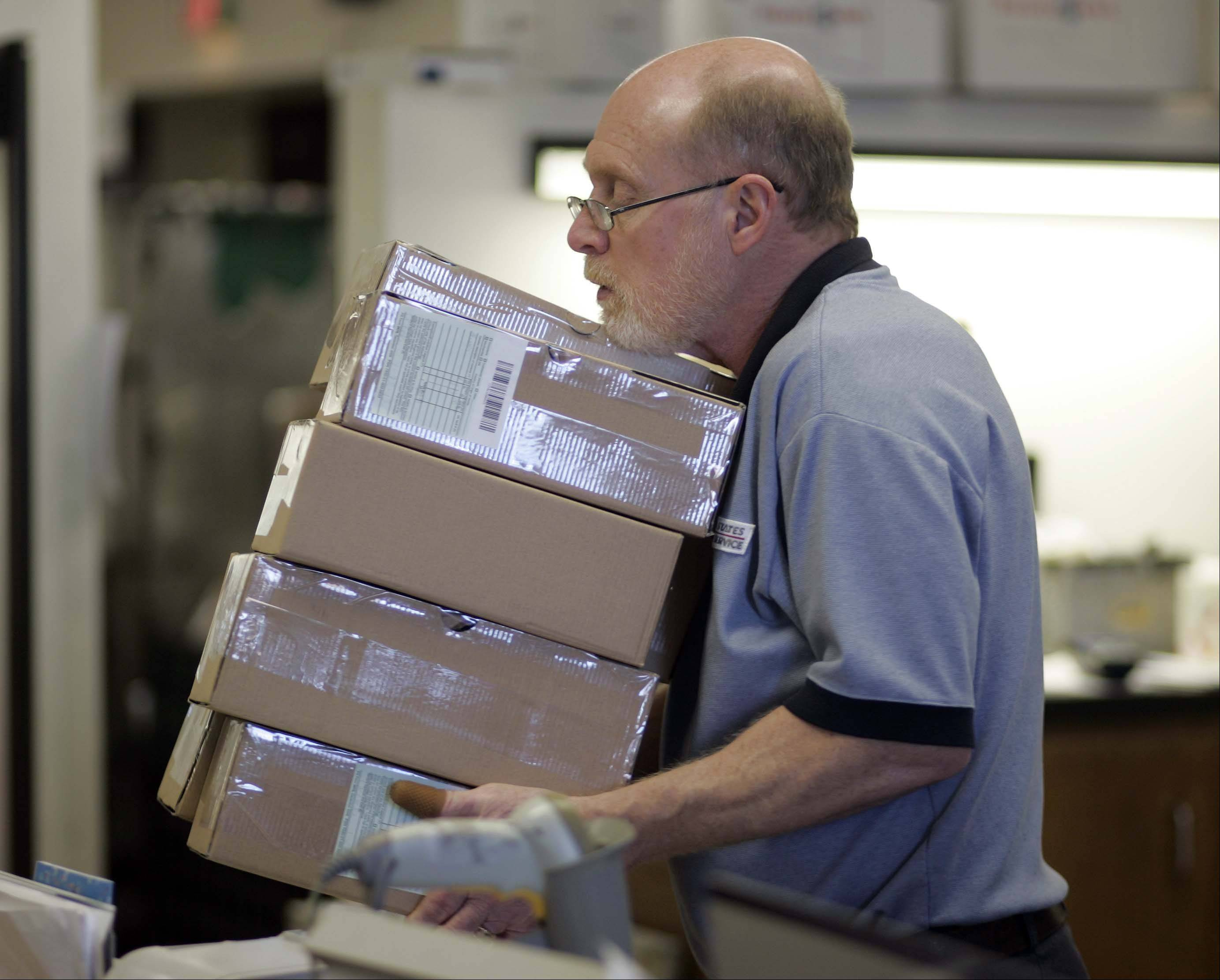 Gary Steinmann will retire from the West Dundee post office on Jan. 31.