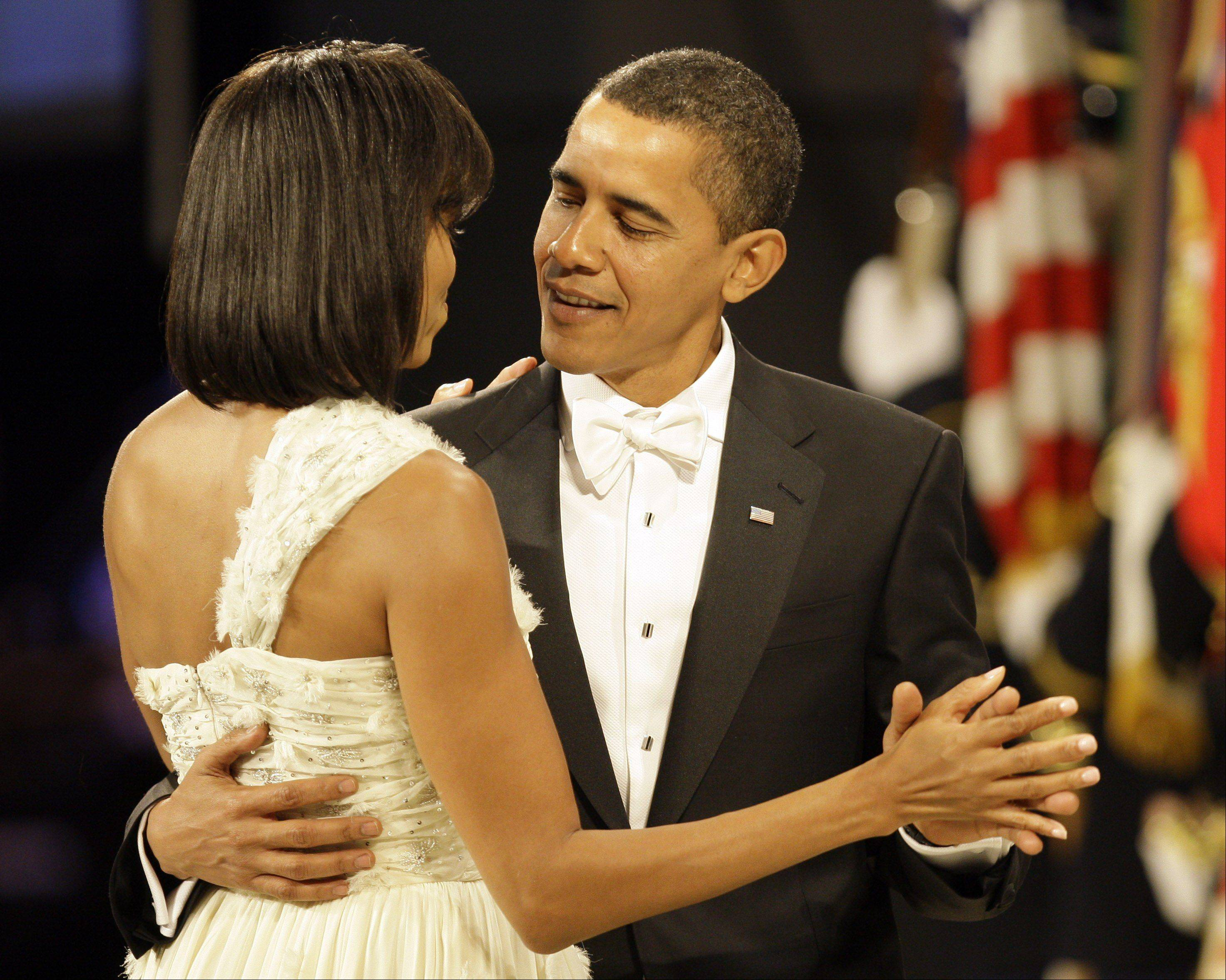 A bow tie has the power to make a statement. Wearing this white bow tie with a black tuxedo without tails drew comments (good and bad) for President Barack Obama as he danced with first lady Michelle Obama during an inaugural ball in 2009.