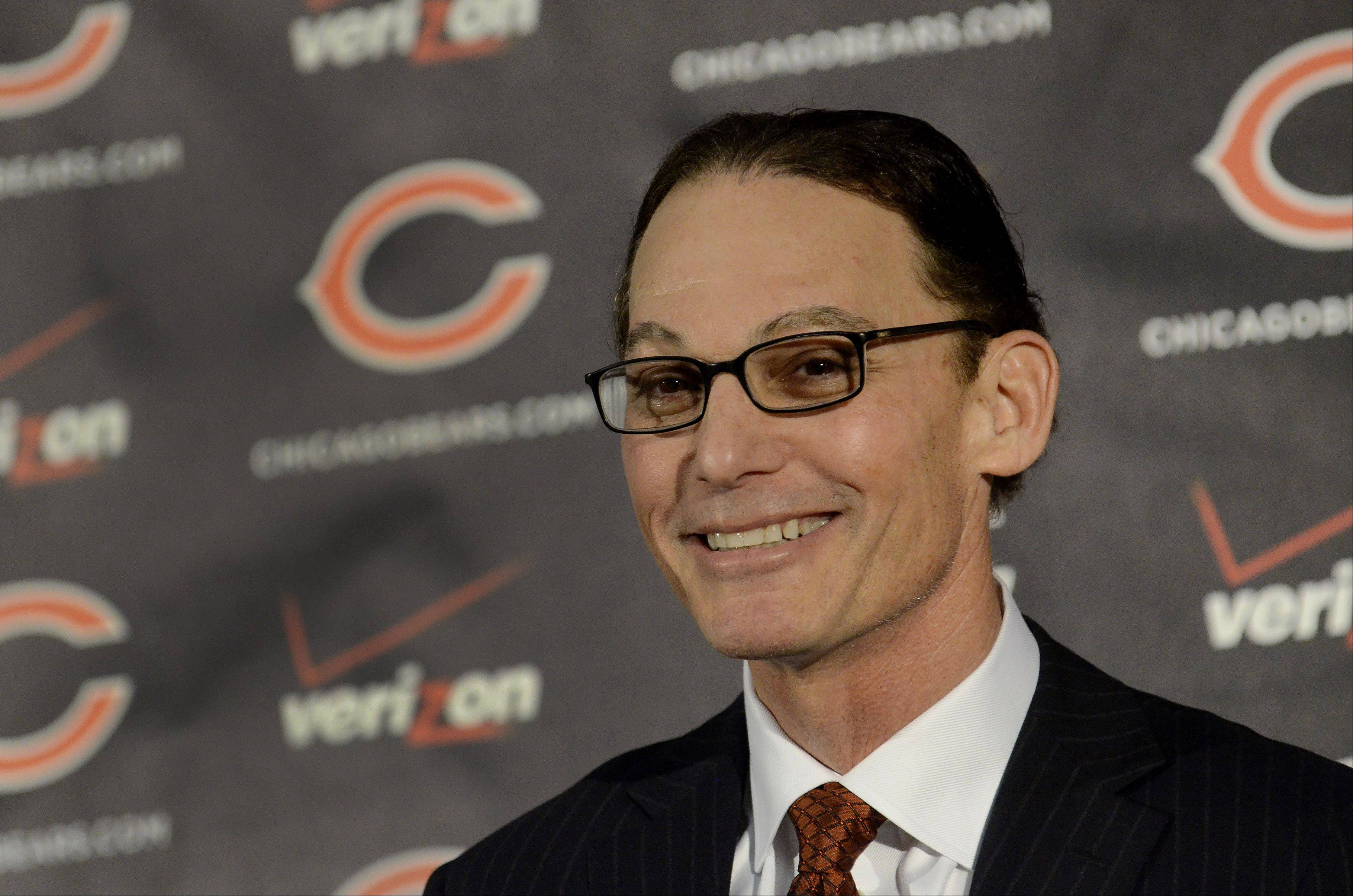 Marc Trestman, 14th head coach of the Chicago Bears.